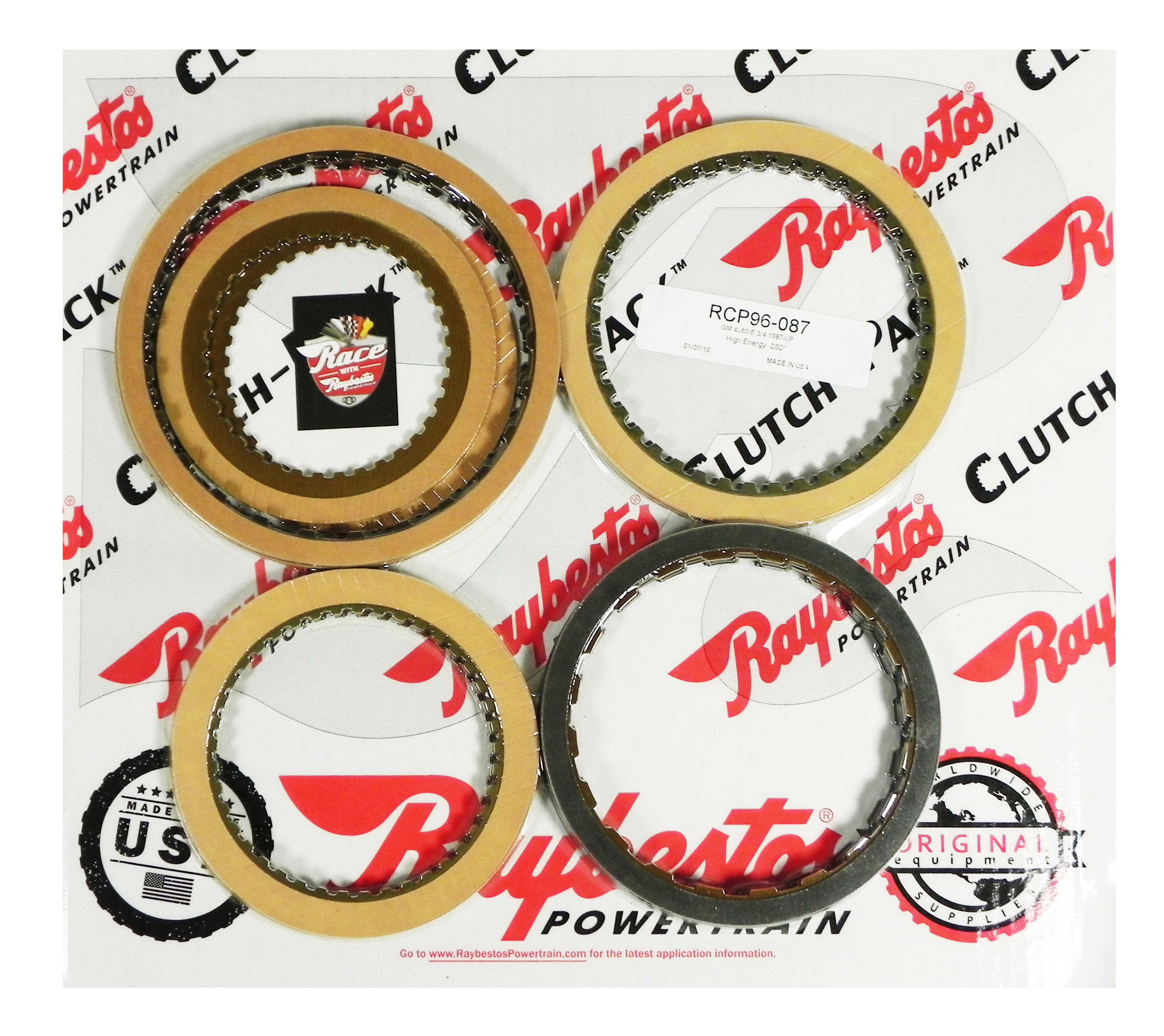 4L60, 4L60E Friction Clutch Pack