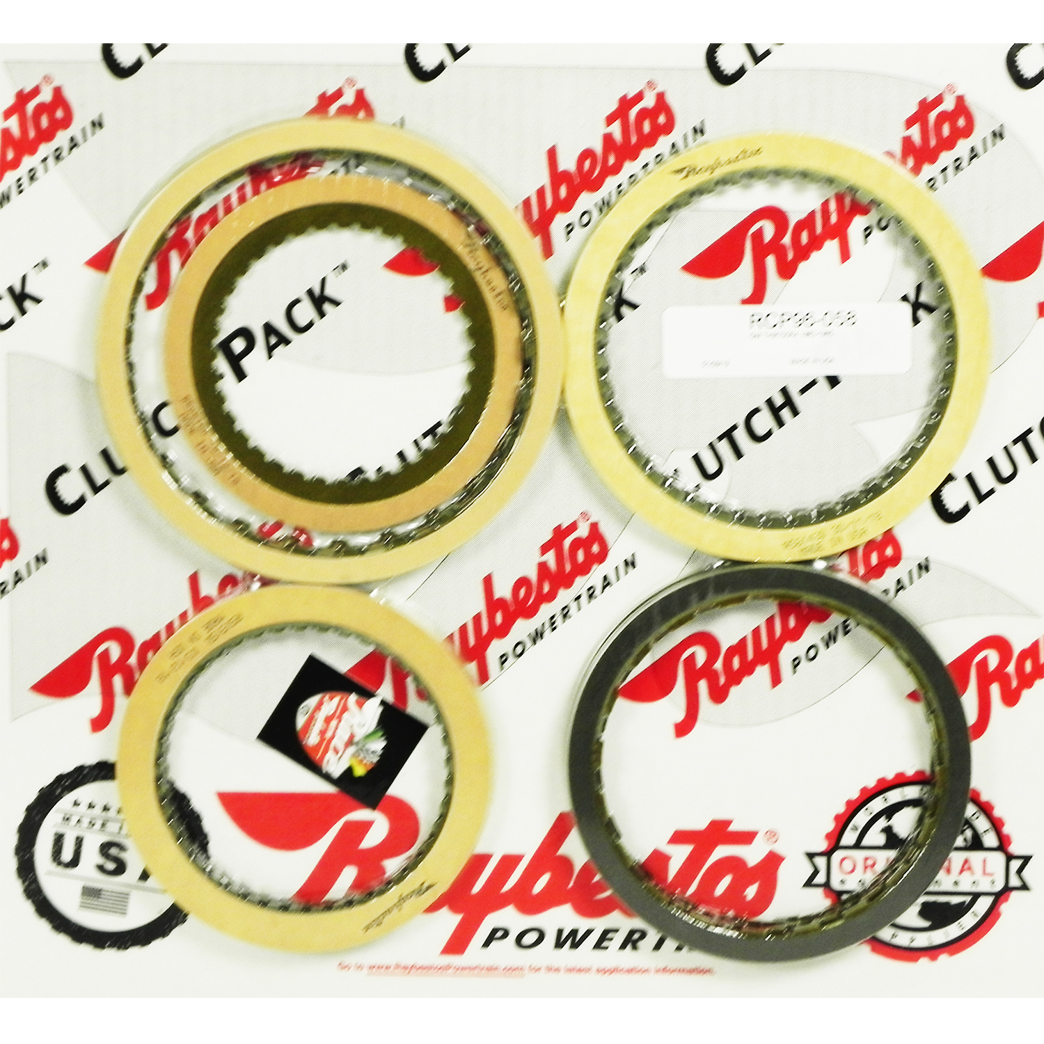 TH700-R4, 4L60, 4L60E, 4L65E, 4L70E Friction Clutch Pack