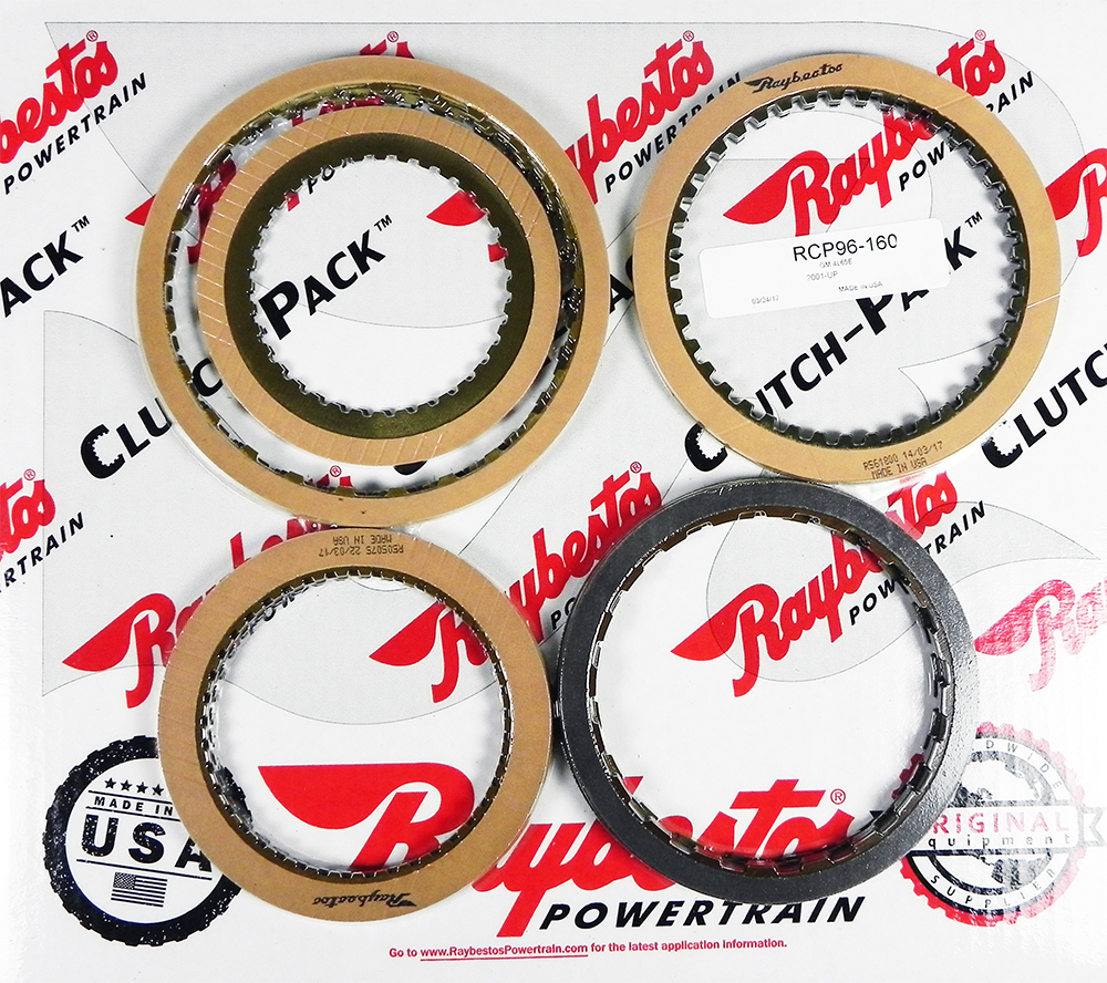 4L65E Friction Clutch Pack