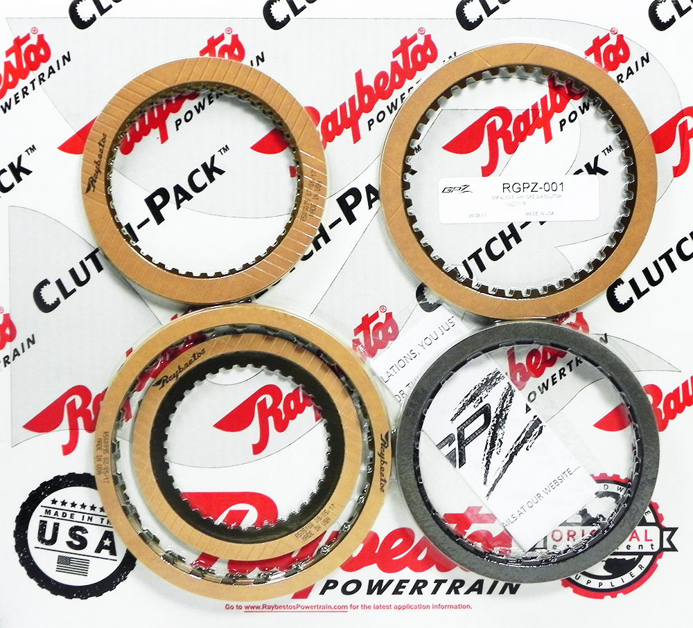 4L60E GPZ Friction Clutch Pack