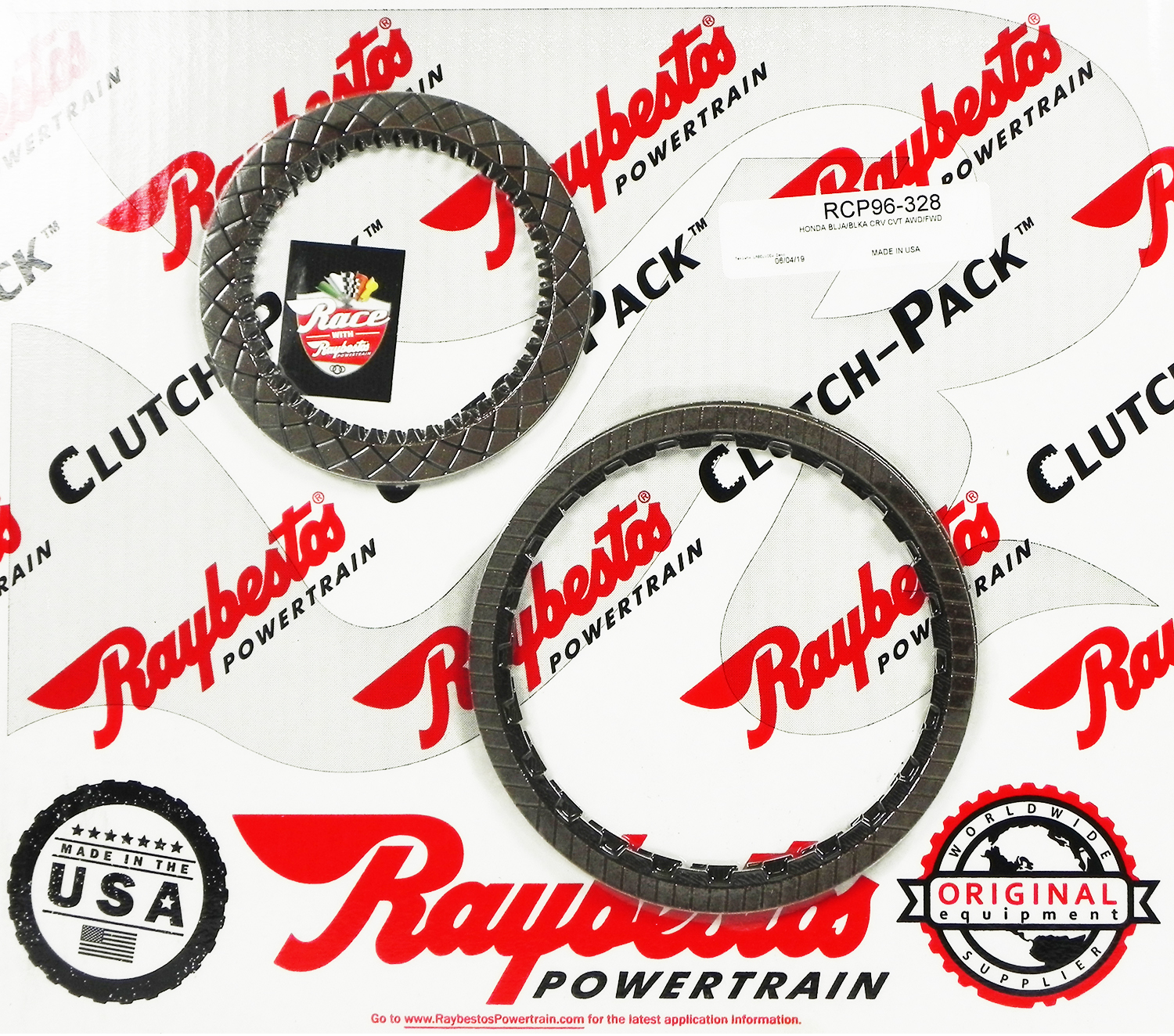 BLJA, BLKA CVT 5 SPEED GPX Friction Clutch Pack
