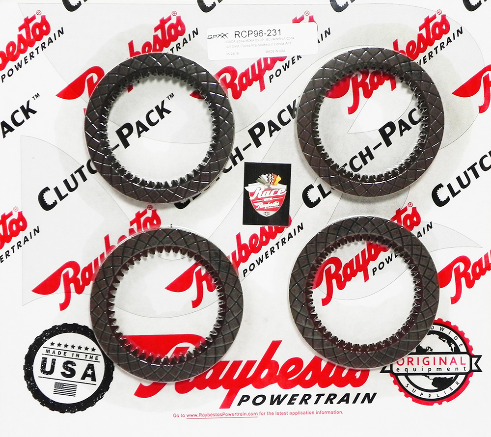 MCVA, MRVA (2002-04), BZKA, MZKA (2003-06) 4 SPEED GPX Friction Clutch Pack
