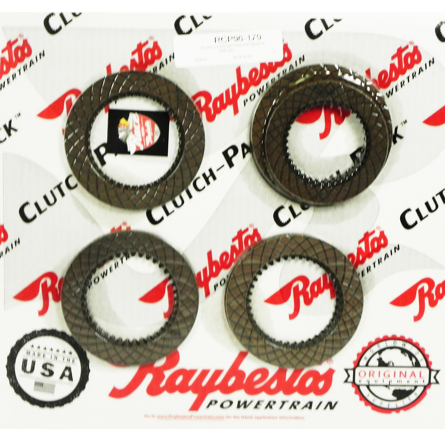 S4XA, M4TA, MDLA, MDMA, SKWA GPX Friction Clutch Pack
