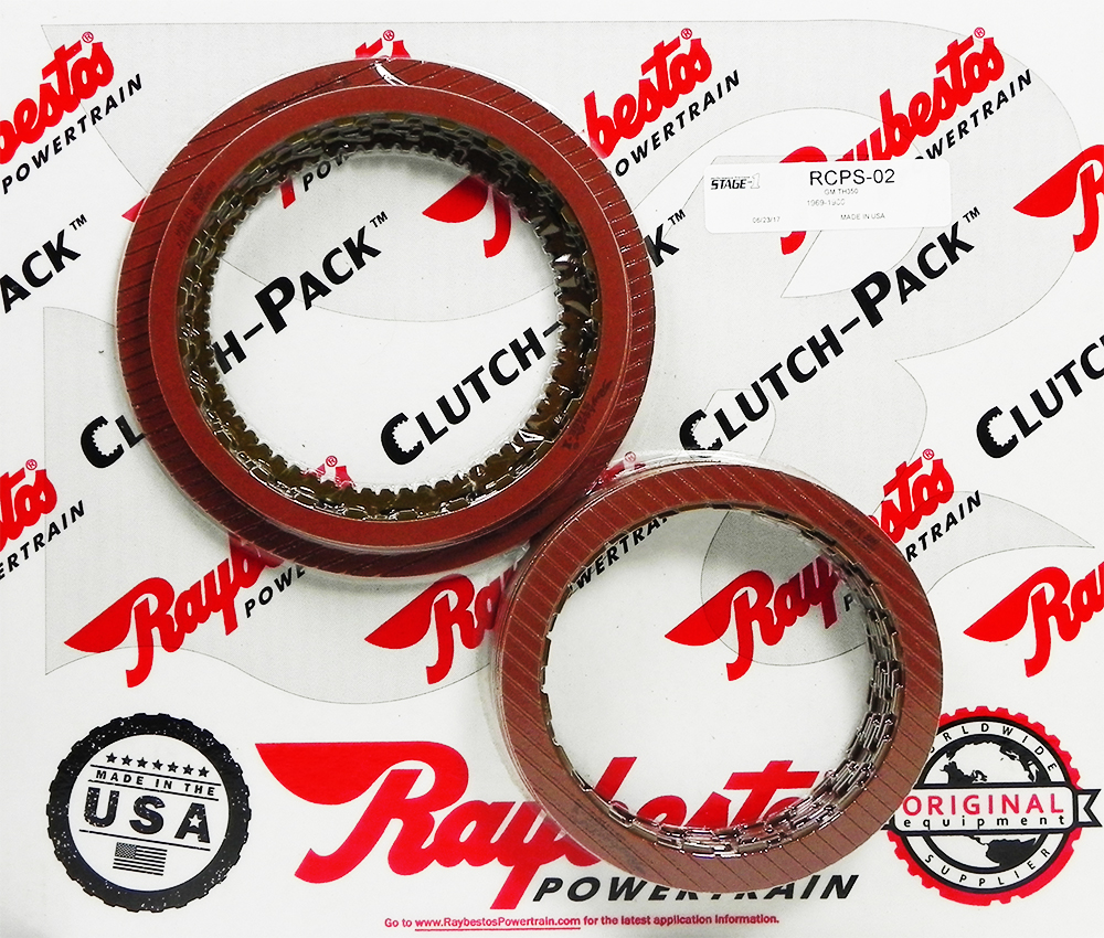 TH350C Stage-1™ Friction Clutch Pack