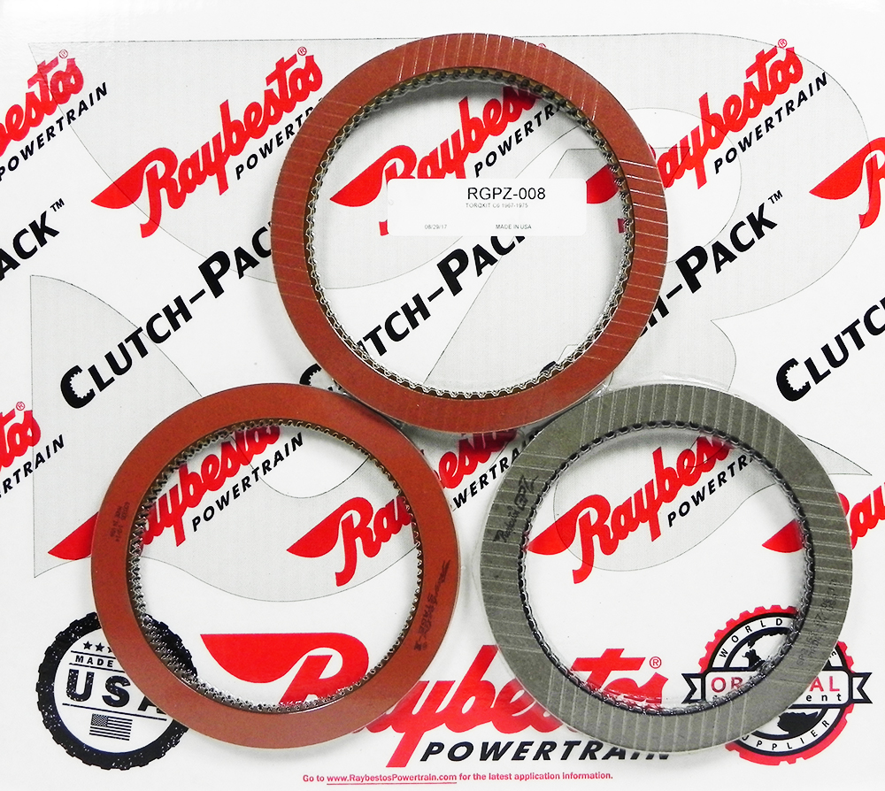 C6 GPZ & Stage-1 Friction Clutch Pack