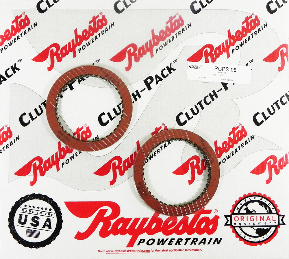 C4, C5 Stage-1 Friction Clutch Pack