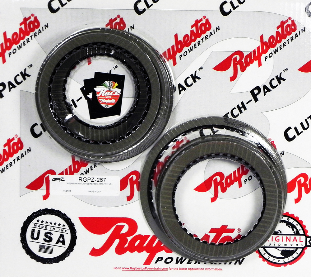 JR710E, RE7R01A (V8 ONLY) GPZ Friction Clutch Pack