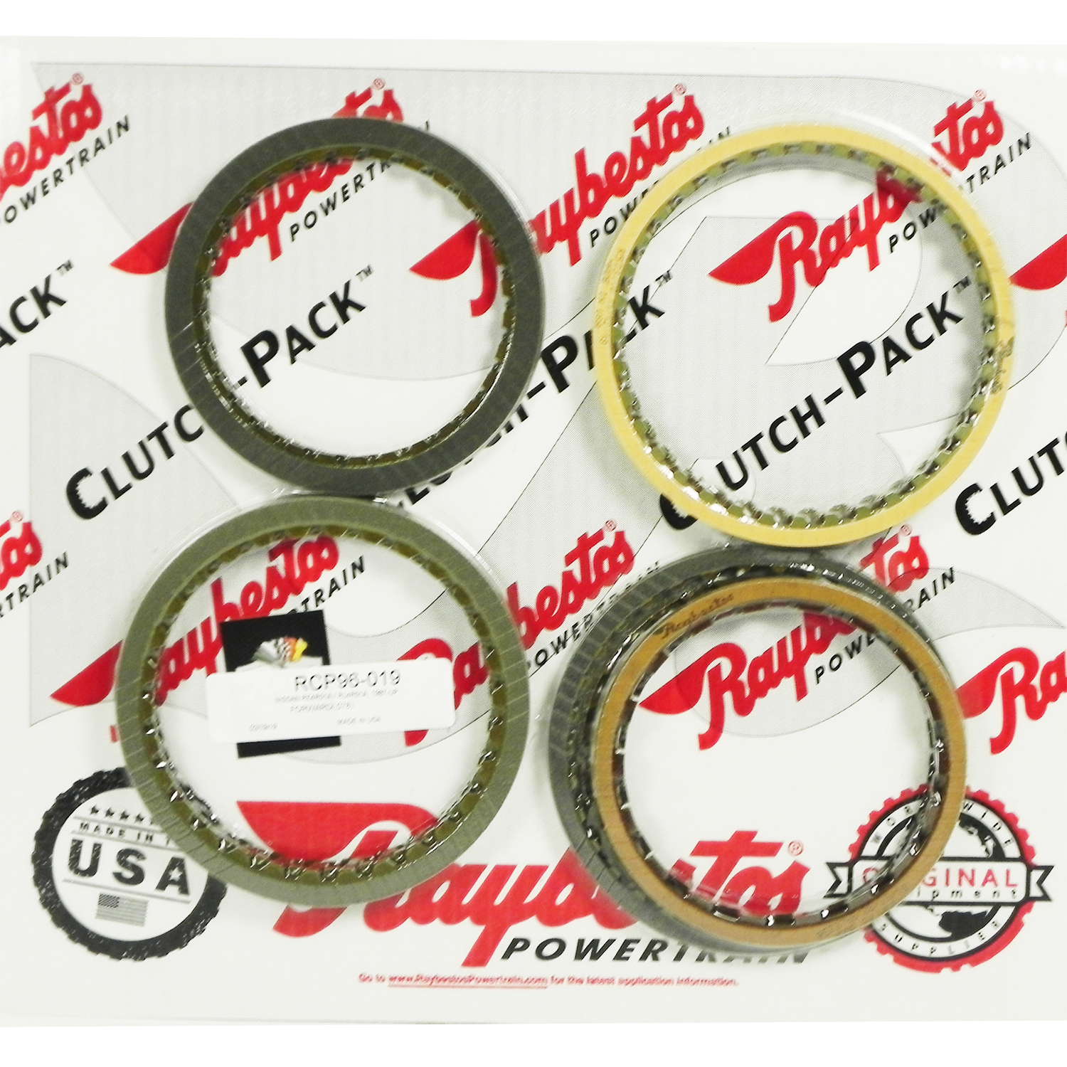 RE4R01A, RL4R01A Friction Clutch Pack