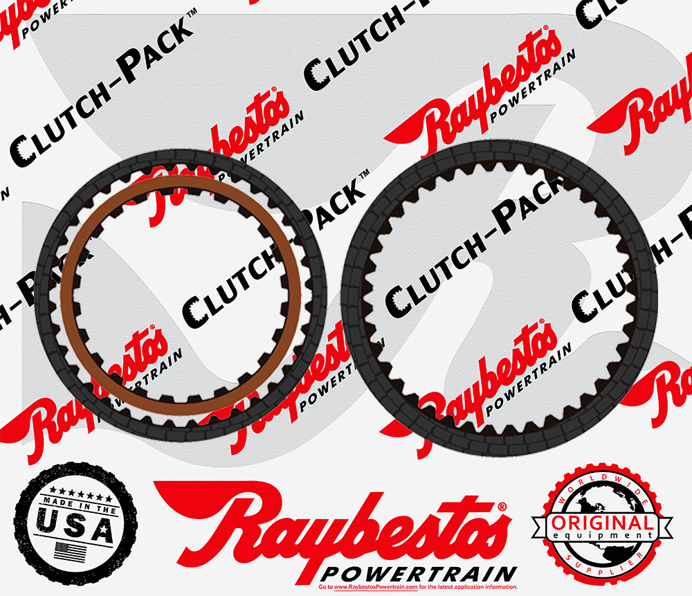 TR690 Friction Clutch Pack