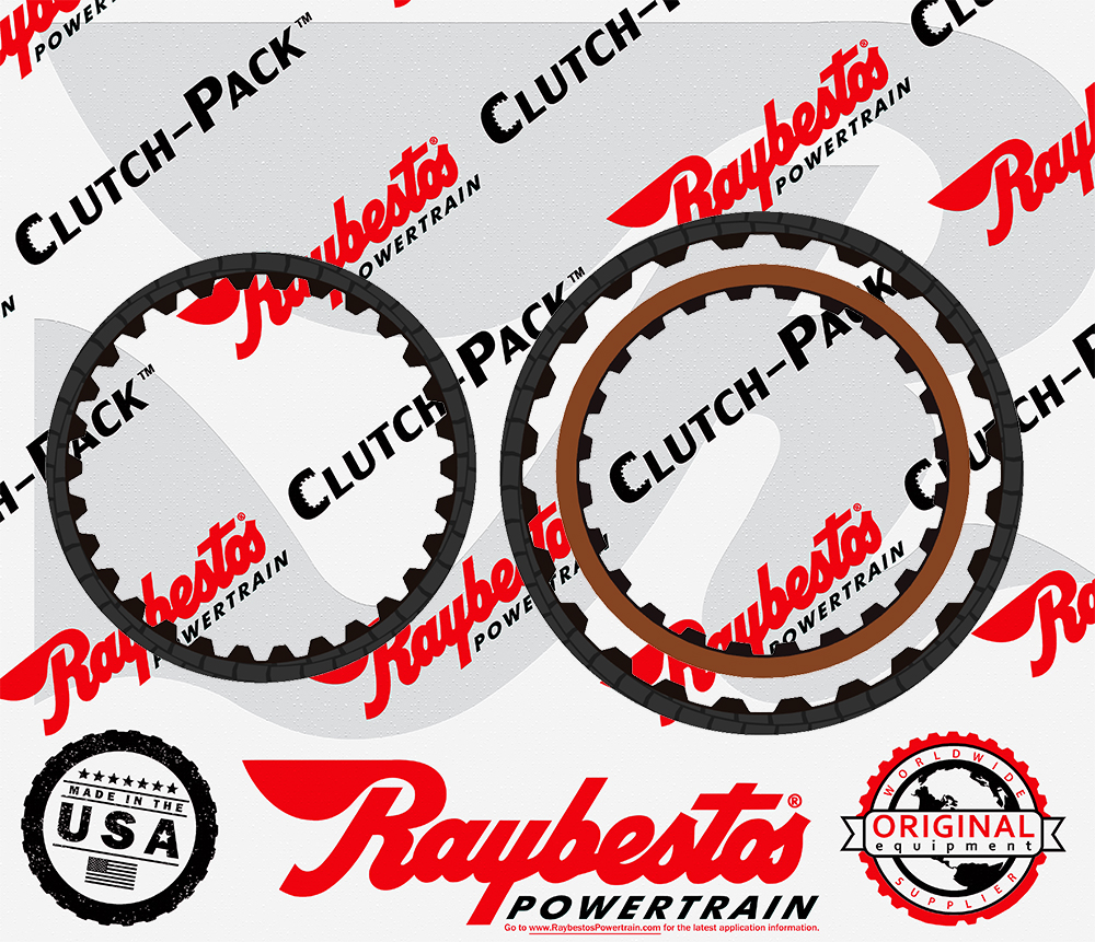 TR580 Friction Clutch Pack