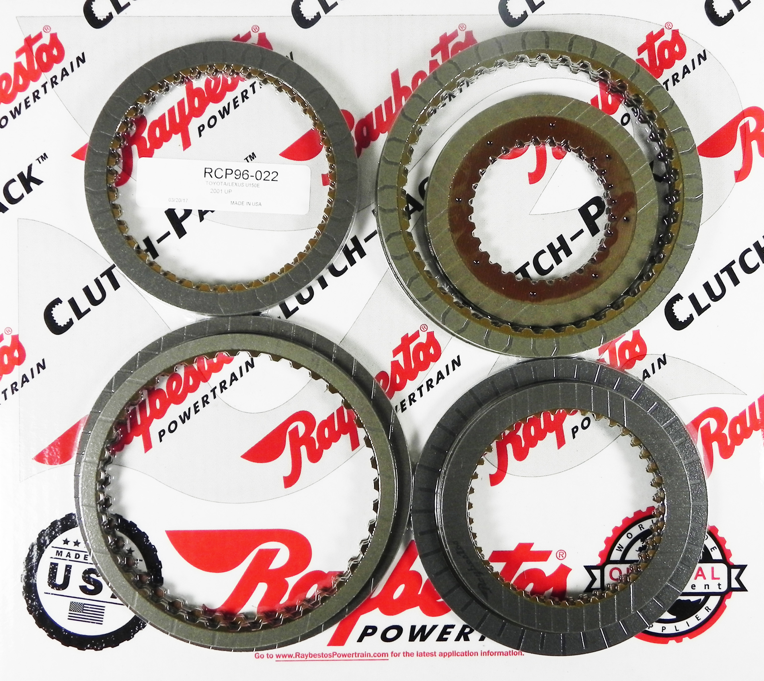 U150E Friction Clutch Pack