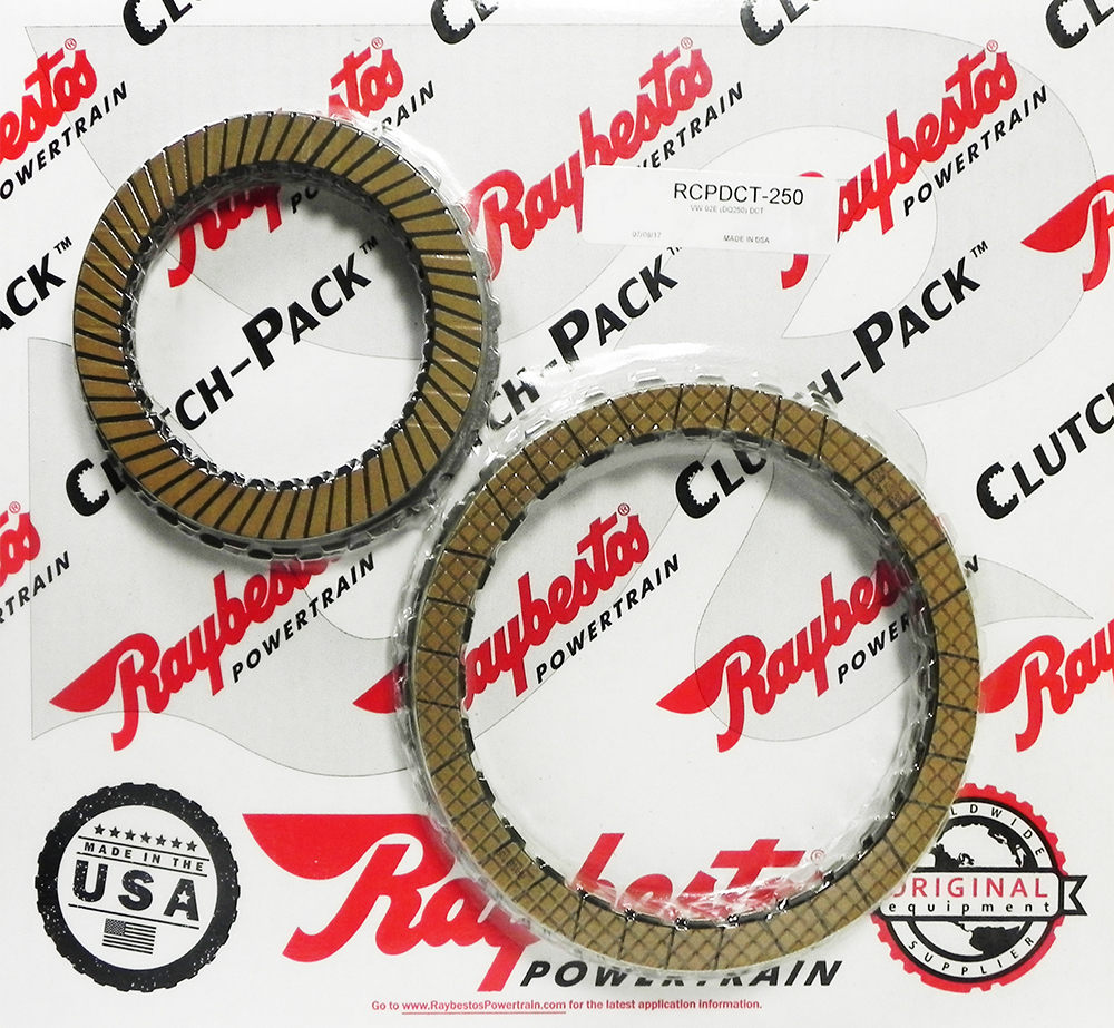 02E (DQ250) DCT  Combo Friction & Steel Clutch Pack