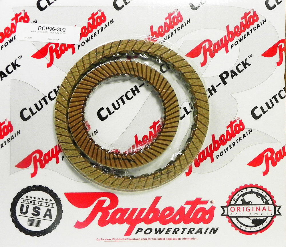 0B5 (DL501) DCT 7 SPEED Friction Clutch Pack