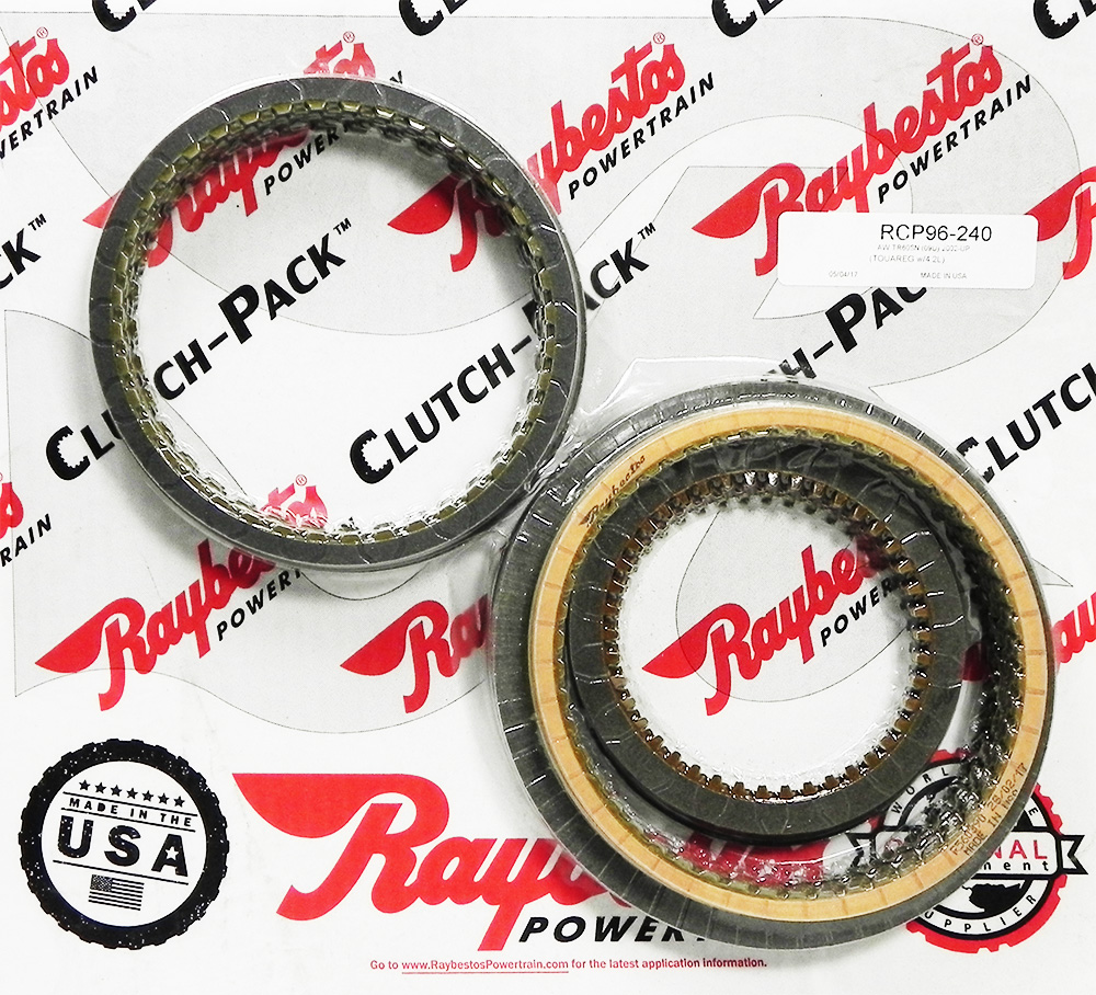 TR60SN, 09D (Toureg With 4.2L V8) Friction Clutch Pack
