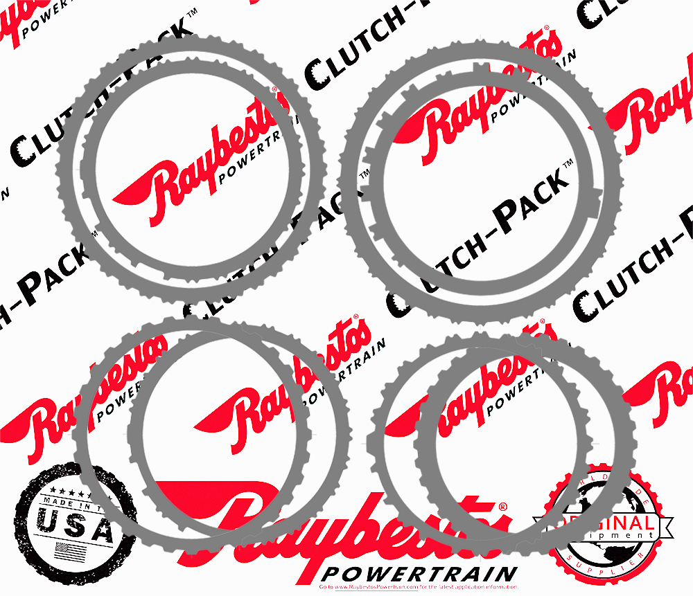 TL80SN (Cadillac CTS) Steel Clutch Pack