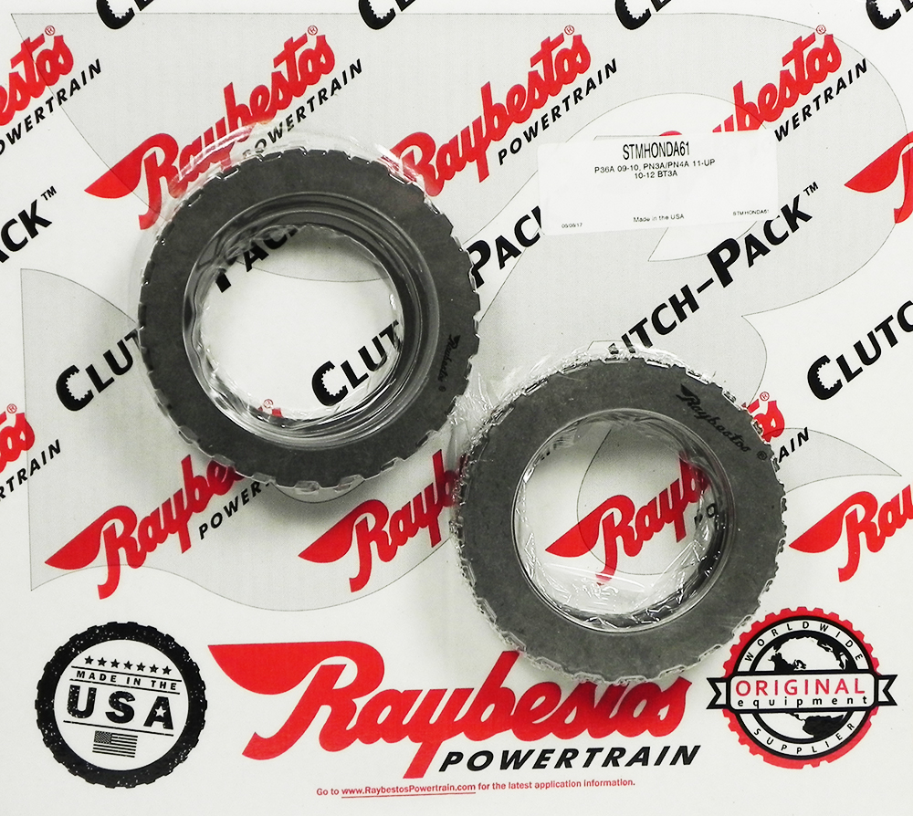 5 SPEED BK3A, BK4A (09-11), BT3A (2009-11), PN3A, PN4A (2011-ON), PV1A Steel Clutch Pack