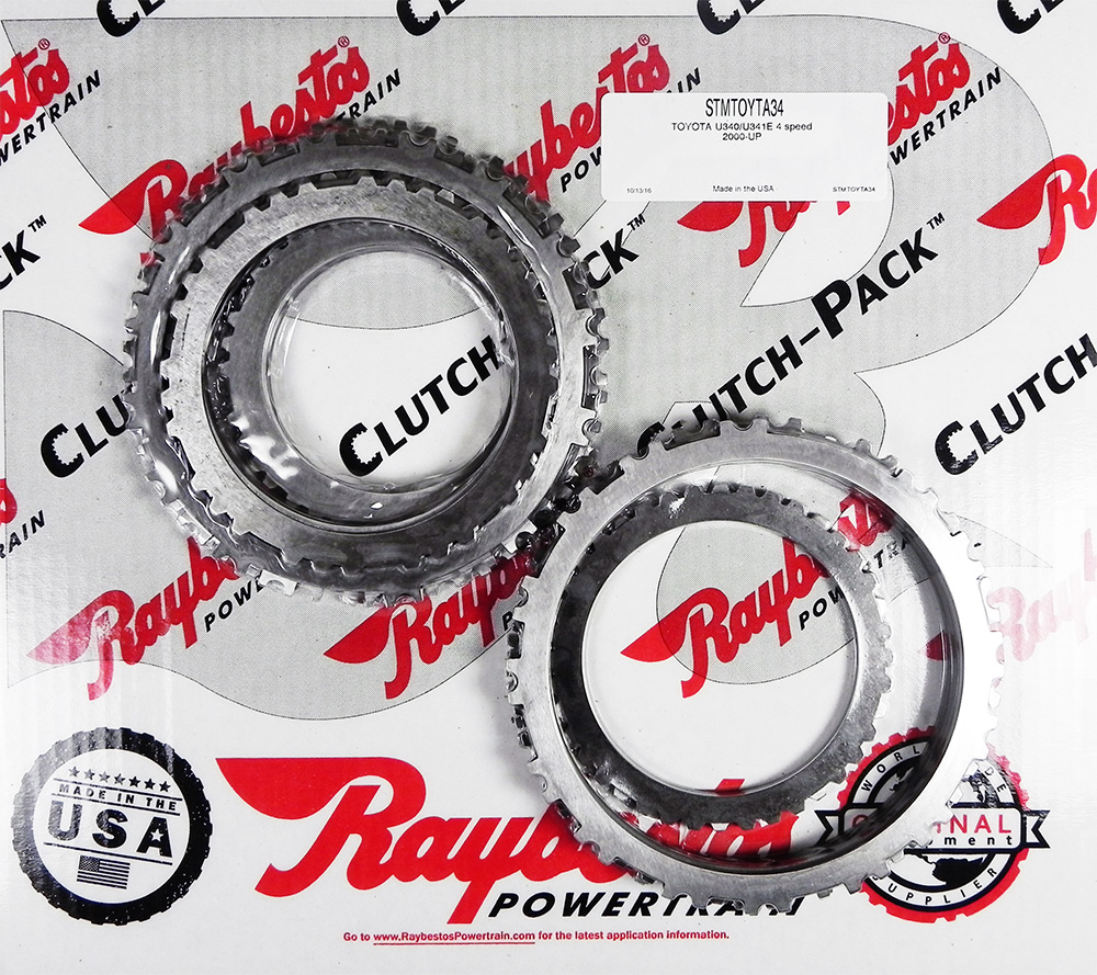 U340, U341E (4 Speed)  Steel Clutch Pack