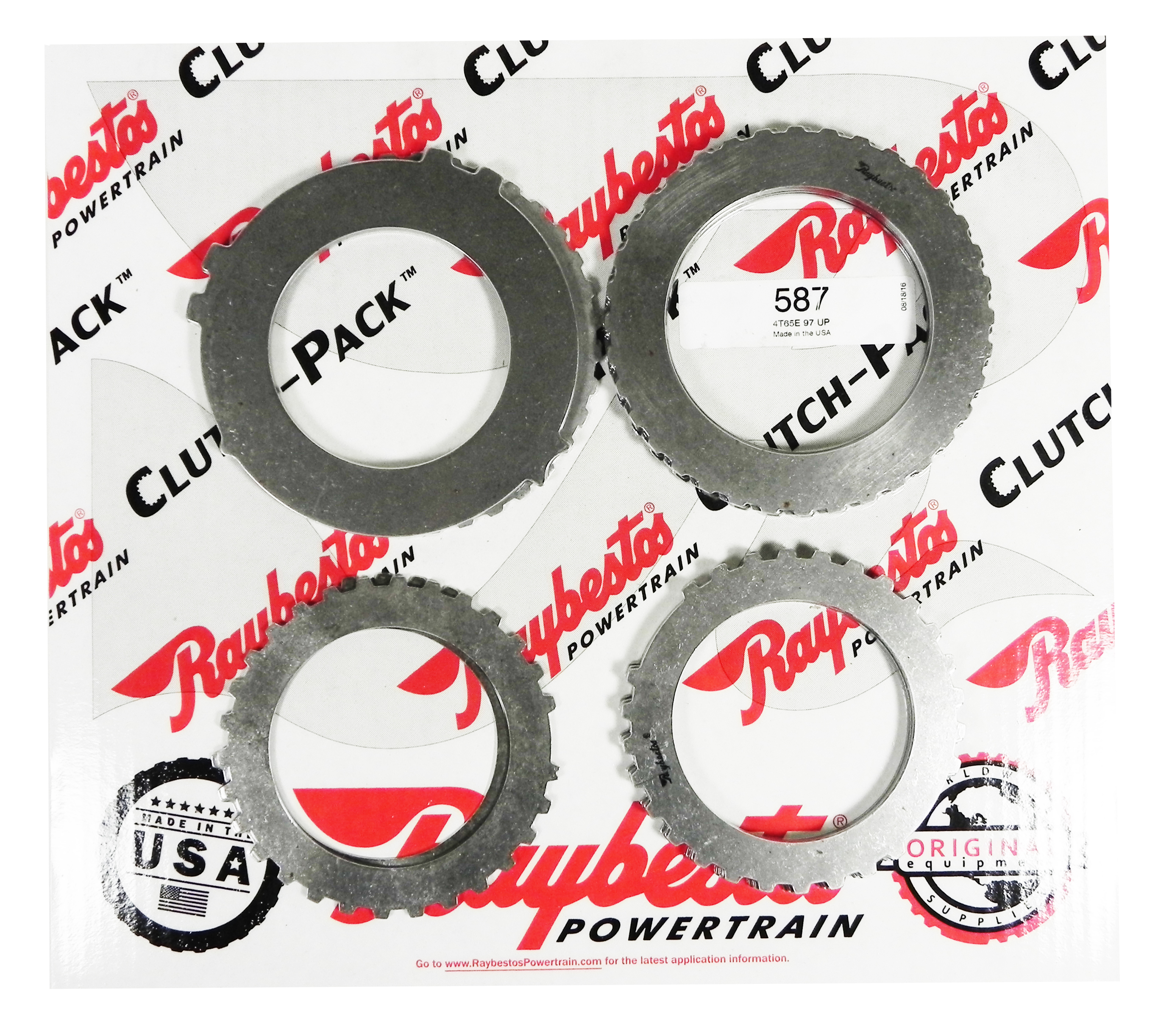 4T65E Steel Clutch Pack