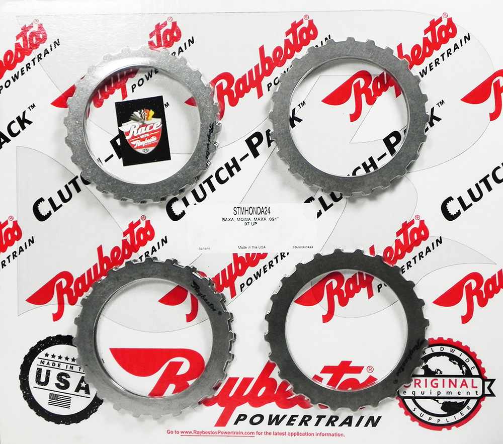 4 SPEED BAXA, MAXA, MDWA Steel Clutch Pack