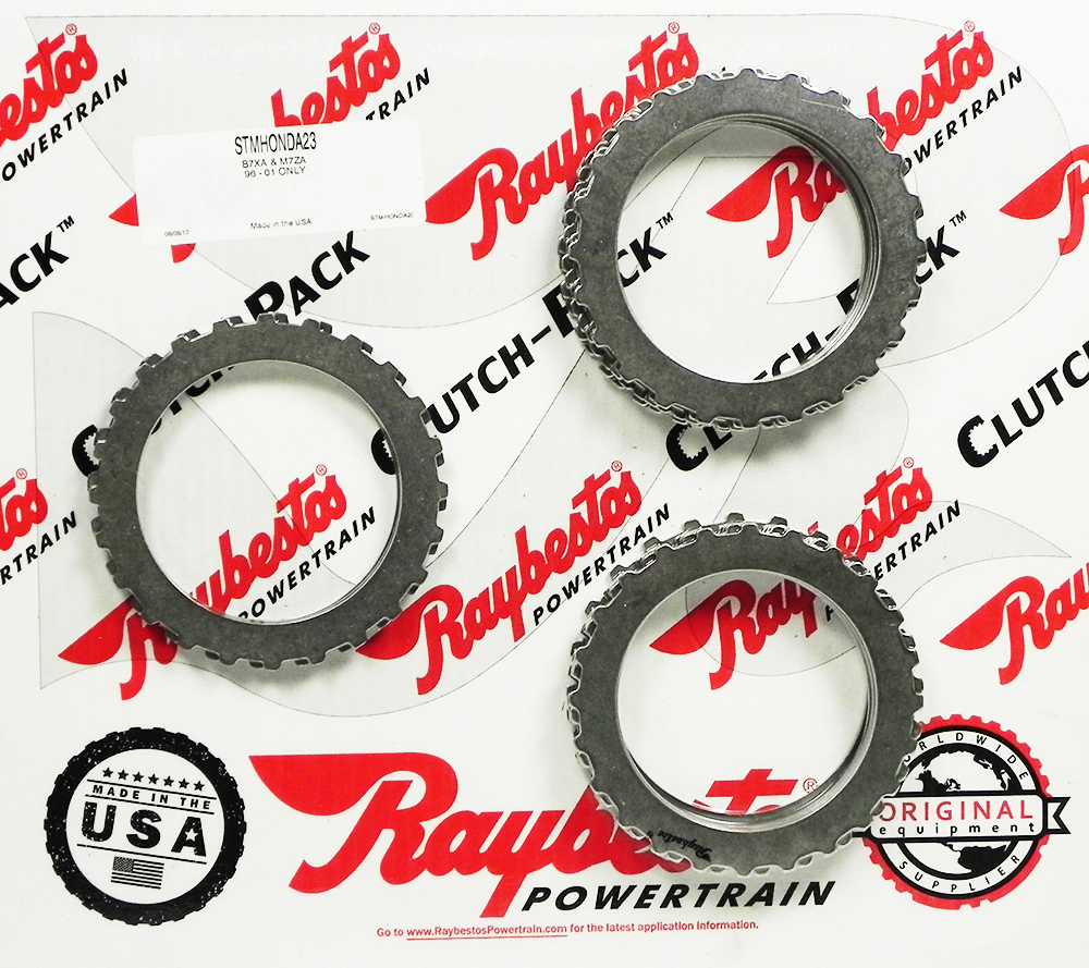 4 SPEED B7XA, M7ZA Steel Clutch Pack