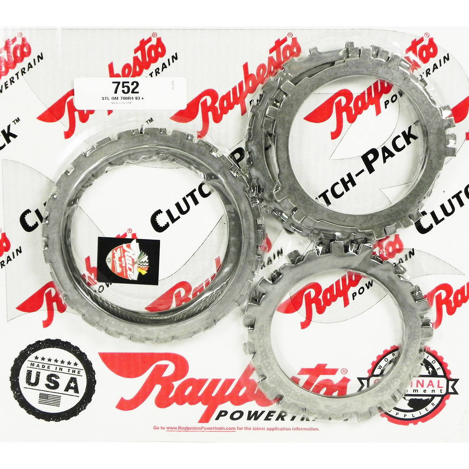 4L60E Steel Clutch Pack