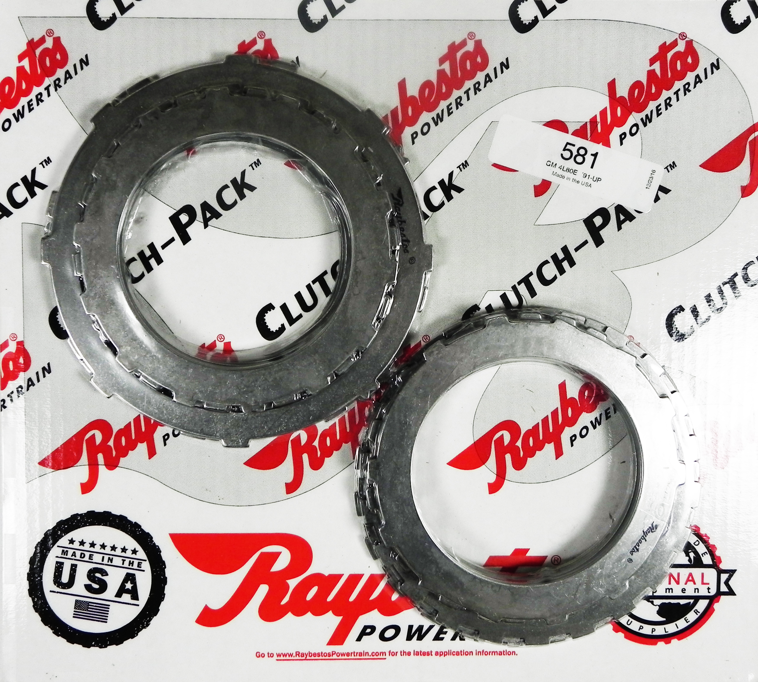 4L80E Steel Clutch Pack