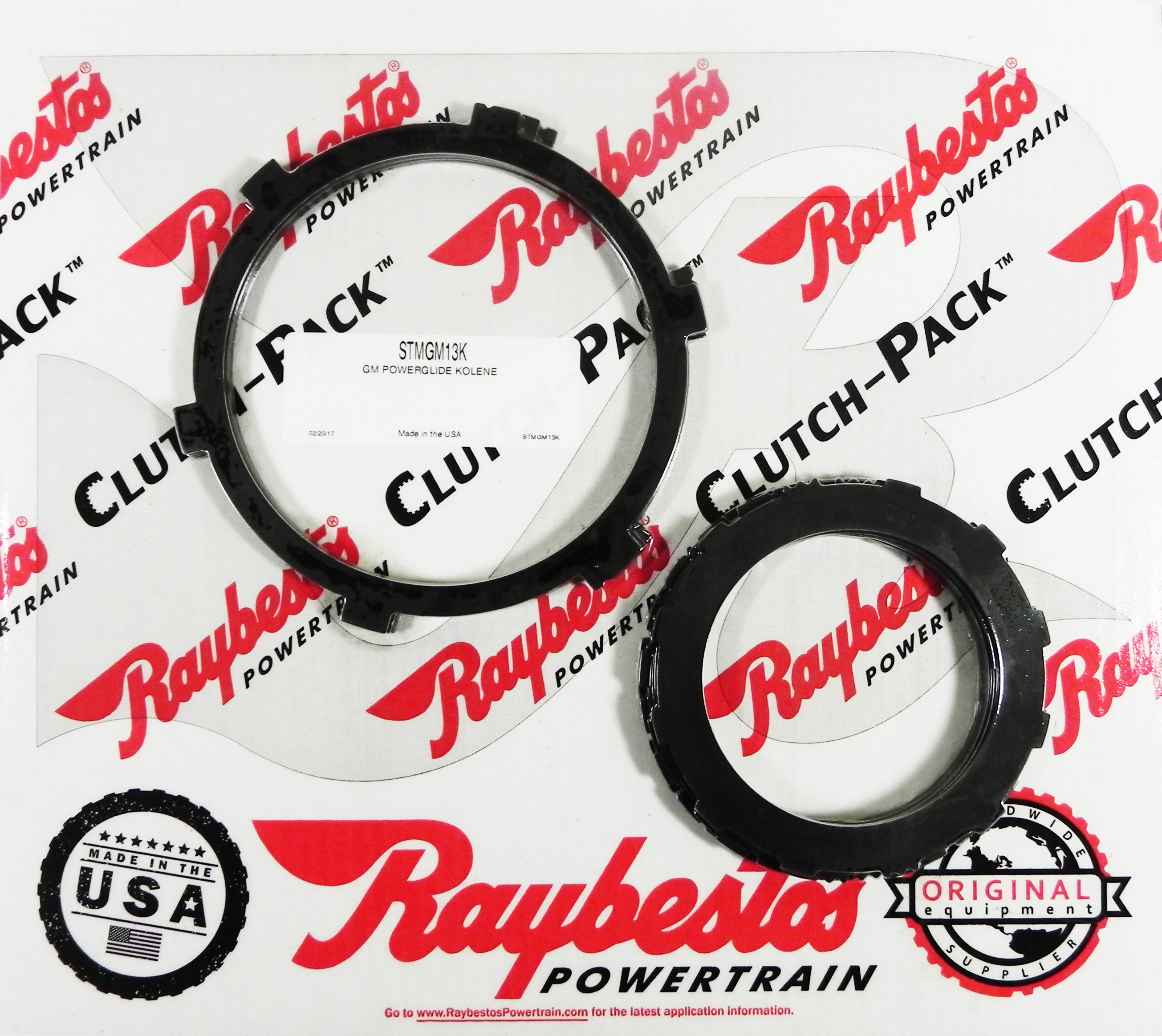 POWERGLIDE Kolene Steel Clutch Pack