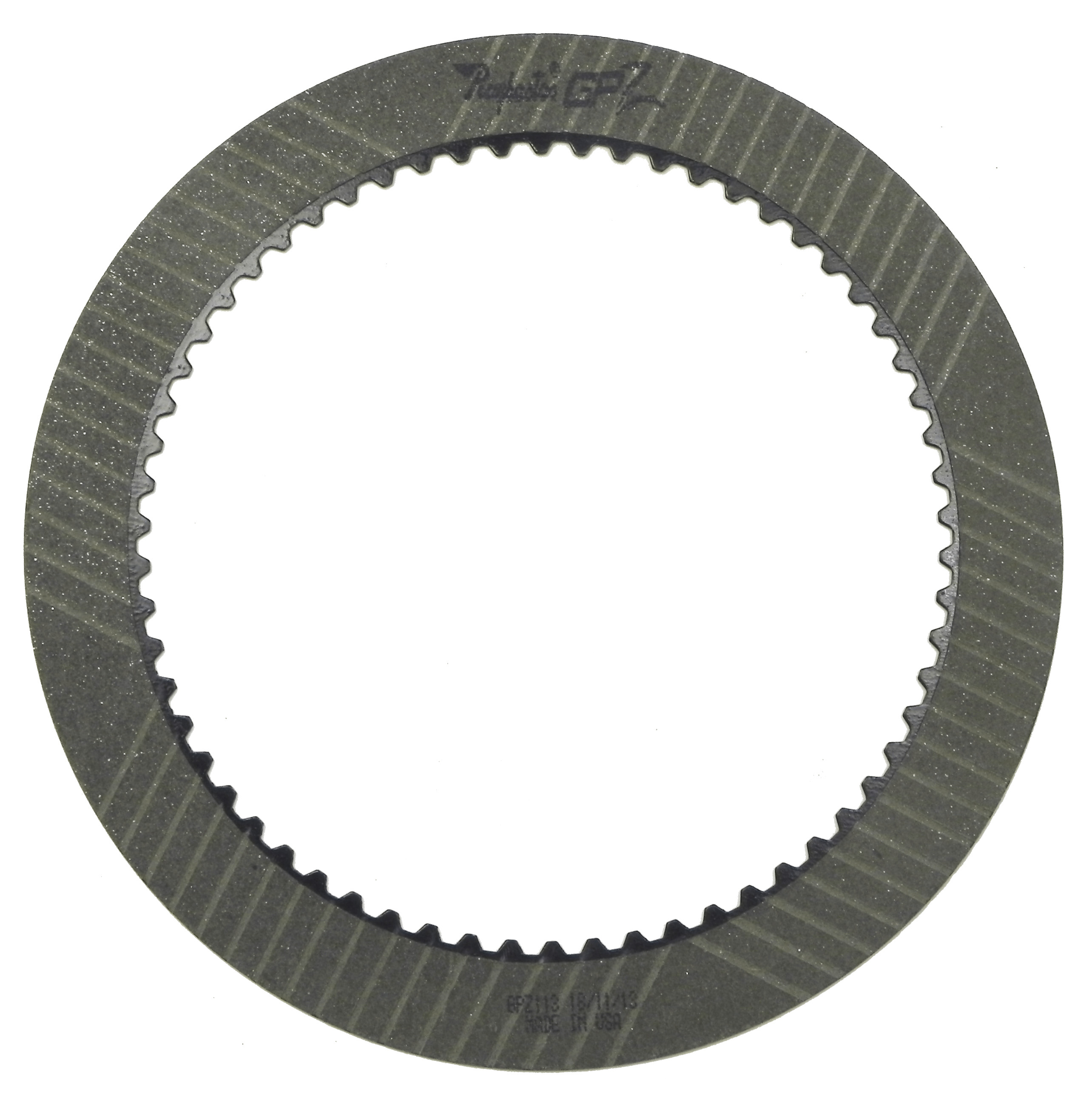 46RH, 46RE, 47RH, 47RE, 48RE GPZ Forward, Direct .062 Friction Clutch Plate