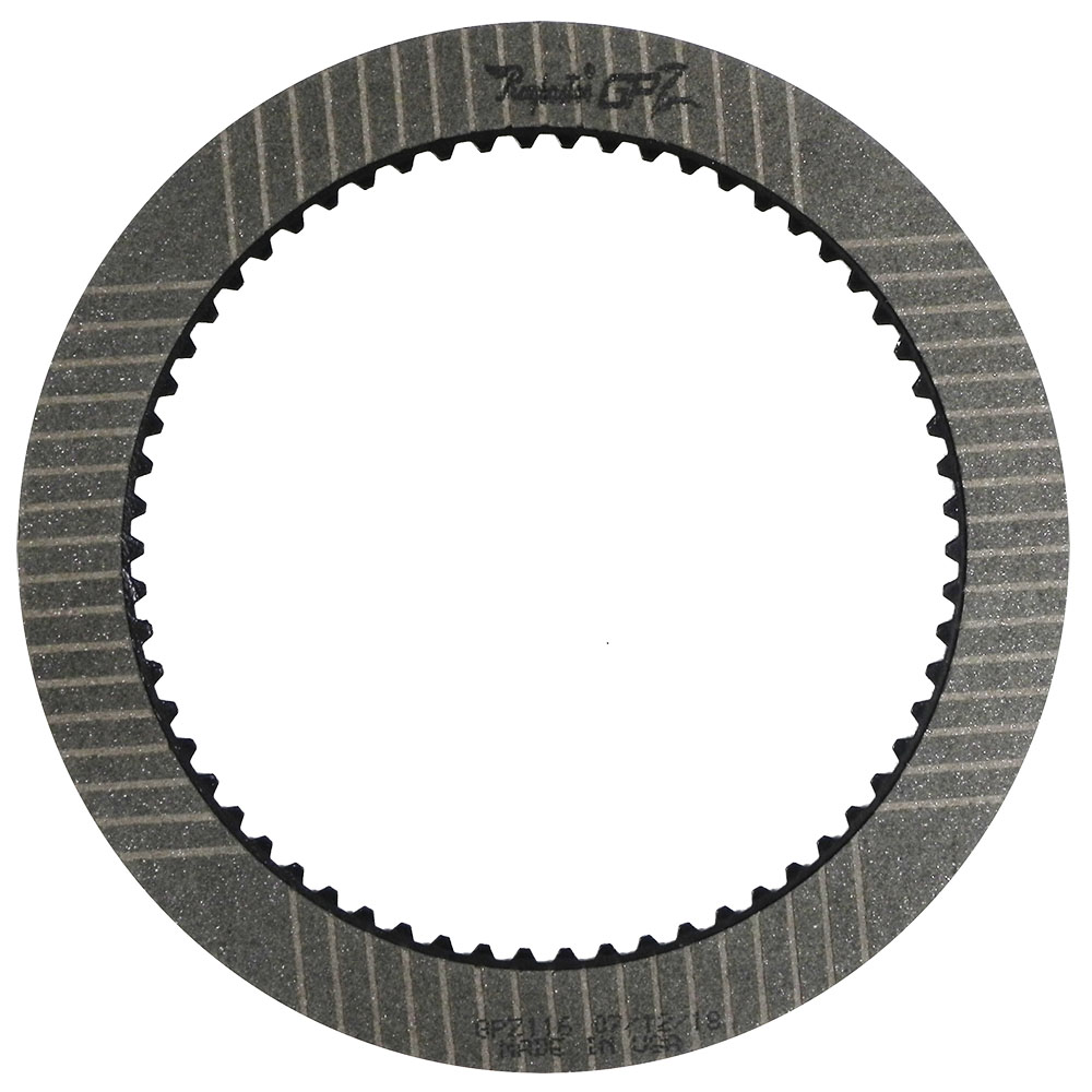 "GPZ116 | 1962-ON Friction Clutch Plate GPZ Forward And Direct (A518, A618, 46RE, 47RE), Direct (48RE) (.084"")GPZ"