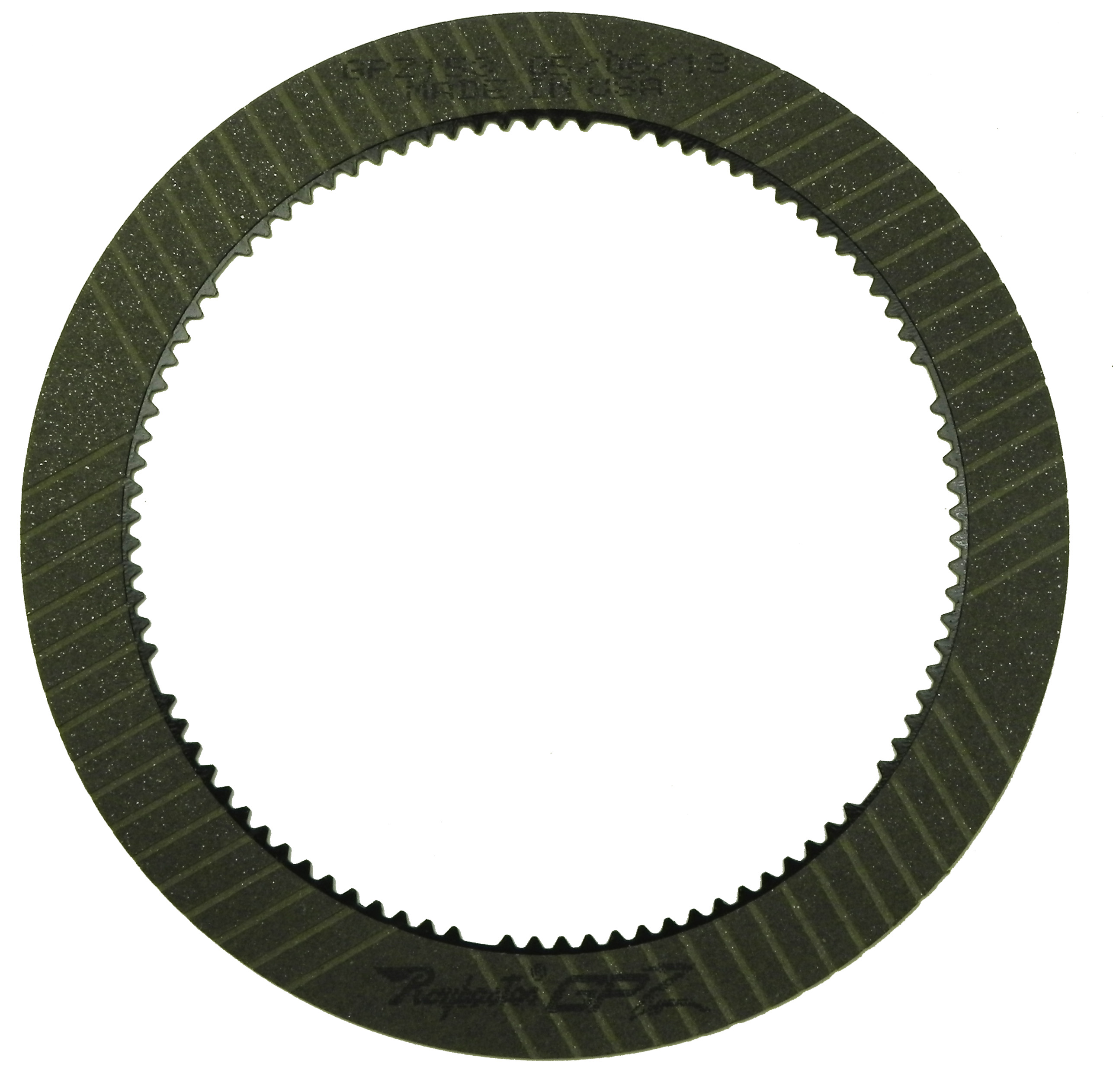C6, E4OD, 4R100 GPZ Friction Clutch Plate