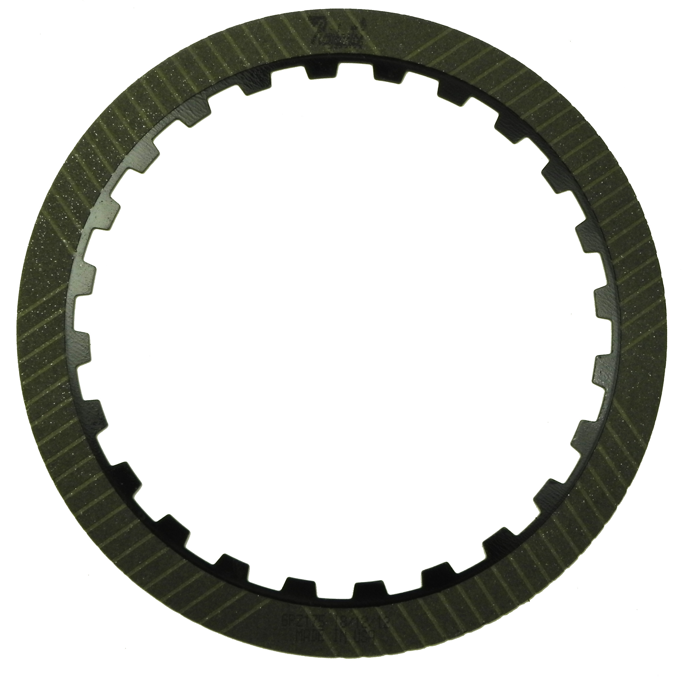 LT1000, LT2000, LT2400 SERIES GPZ Friction Clutch Plate