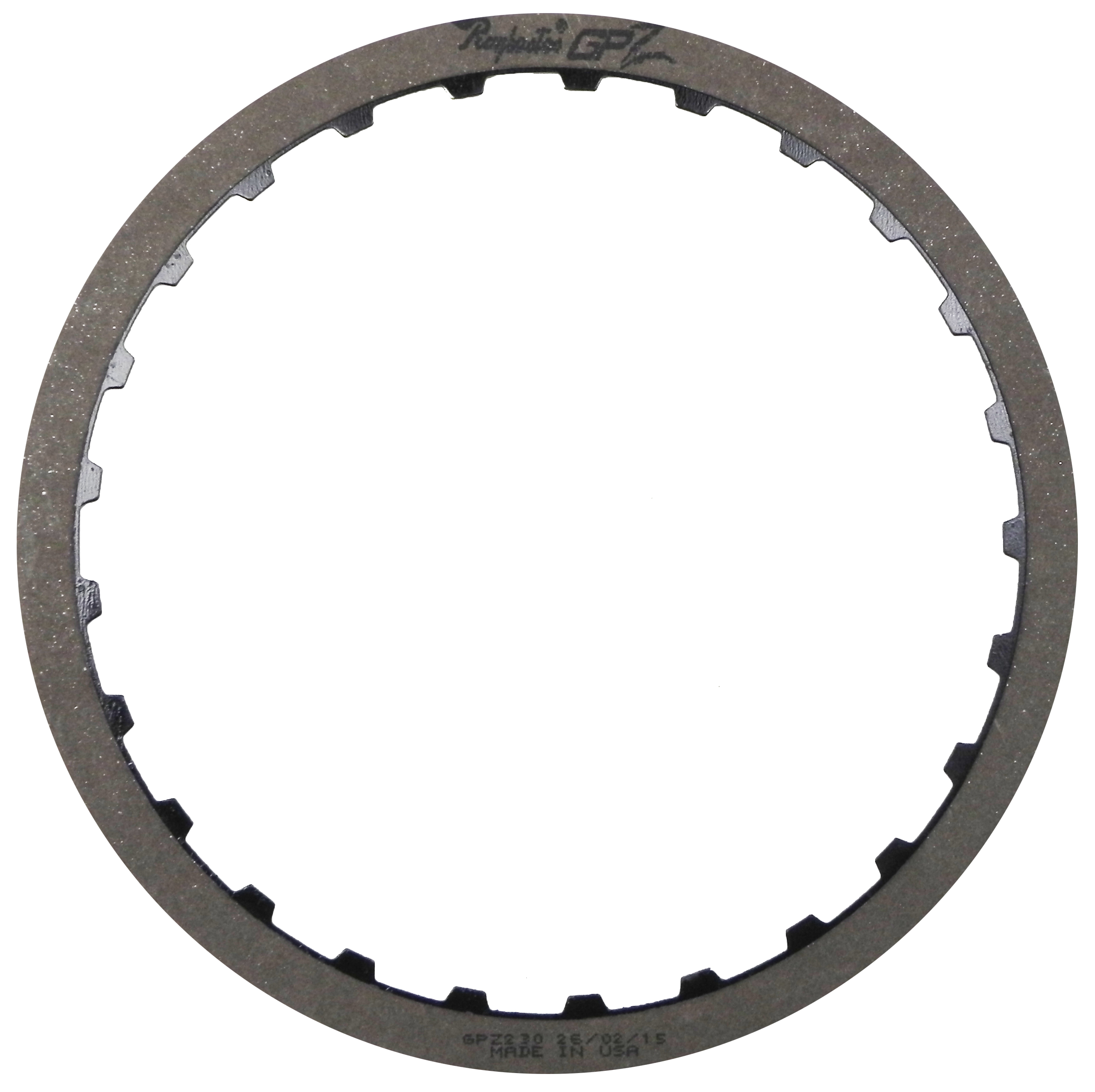 POWERGLIDE GPZ Friction Clutch Plate