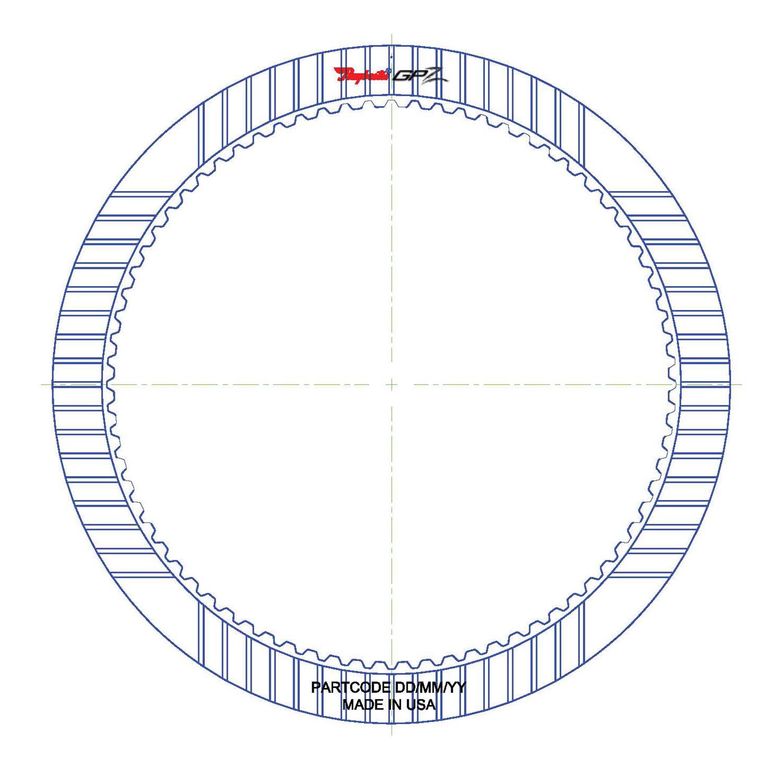 5R110W TorqShift GPZ Friction Clutch Plate