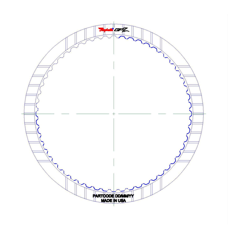 GPZ360 | 2013-ON Friction Clutch Plate GPZ K2 Clutch