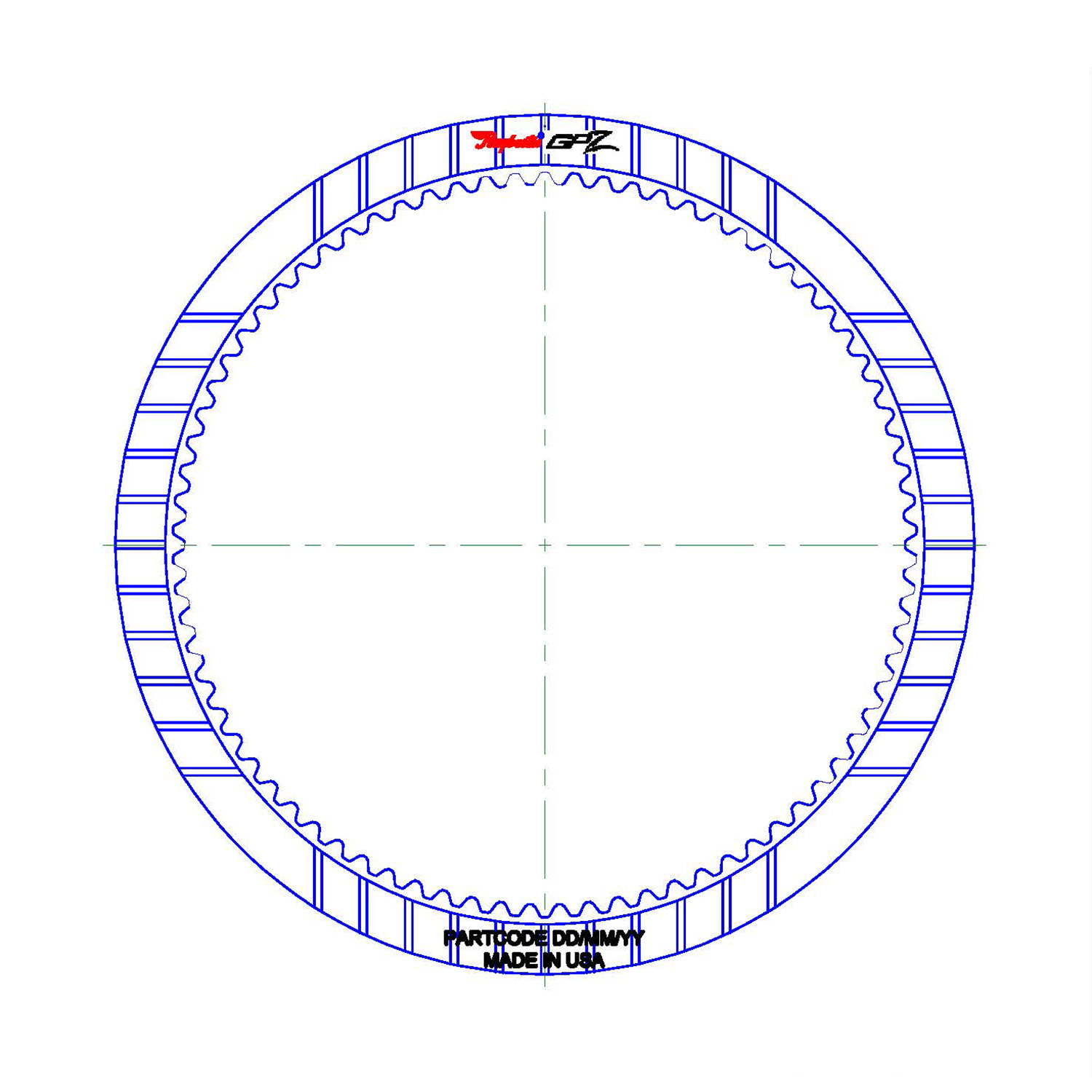 GPZ355 | 2013-ON Friction Clutch Plate GPZ K3 Clutch