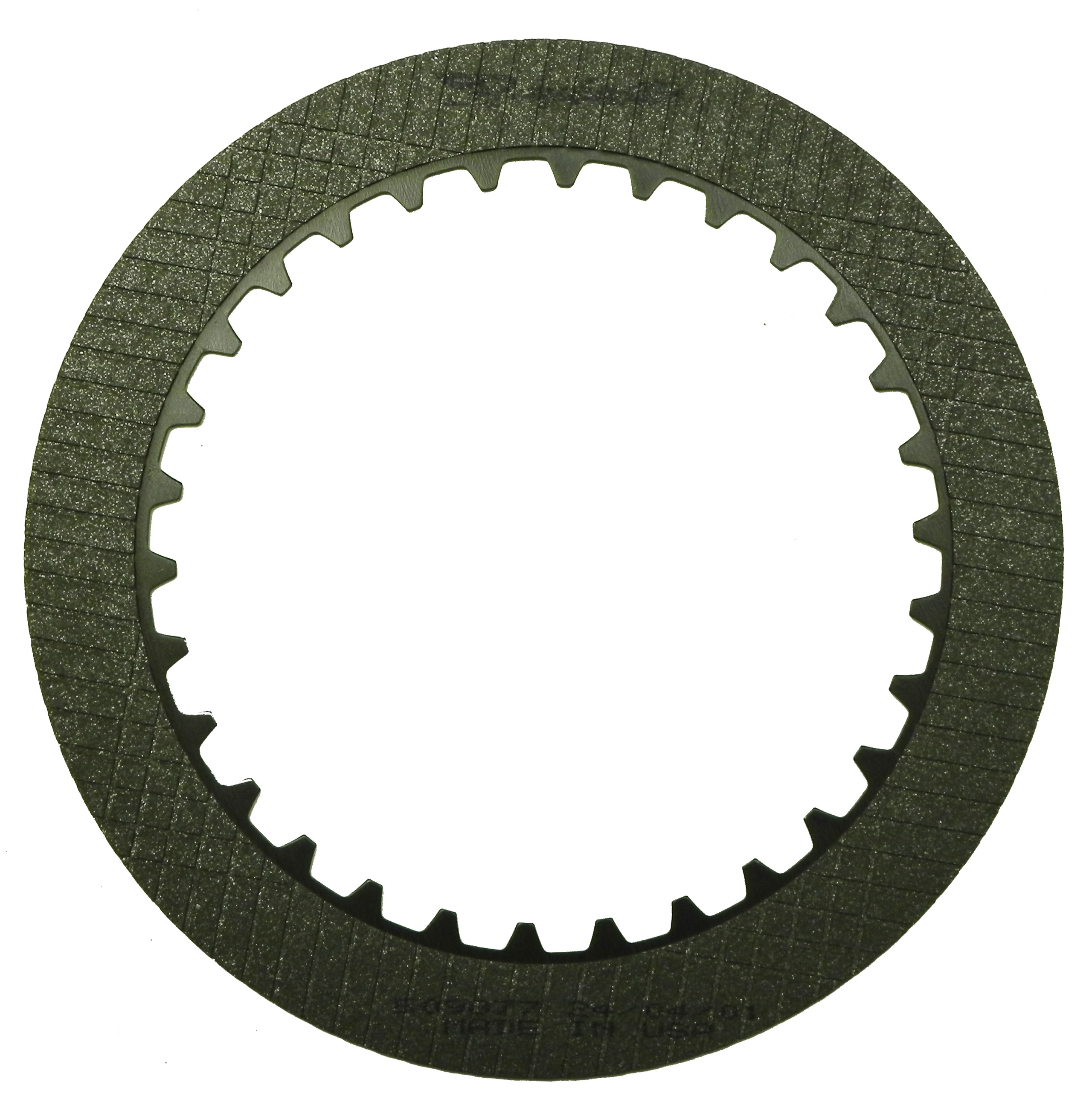 R509877 | 1972-ON Friction Clutch Plate Graphitic Forward, 4th Graphitic