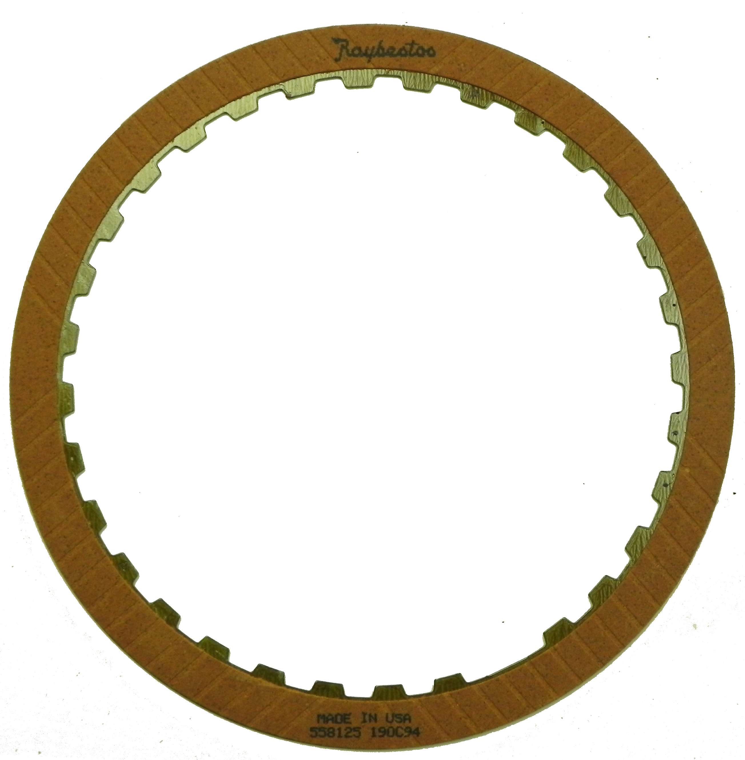 R558125 | 1988-1991 Friction Clutch Plate OE Replacement 2nd, 4th, 1st Design
