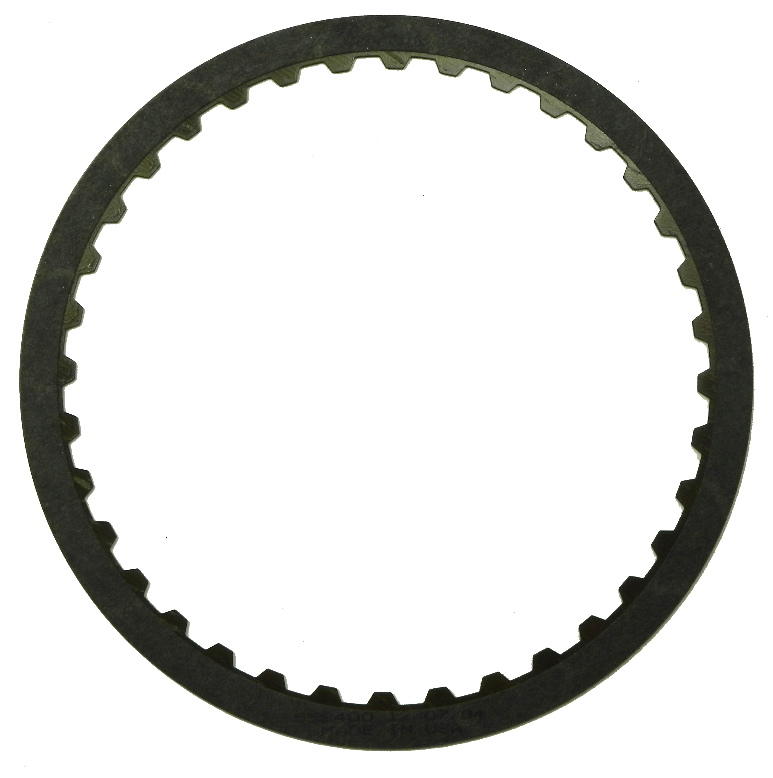 R558400   1999-ON Friction Clutch Plate High Energy 2nd, Coast, Low, Reverse, Direct Single Sided, ID Spline (Except AWD) High Energy