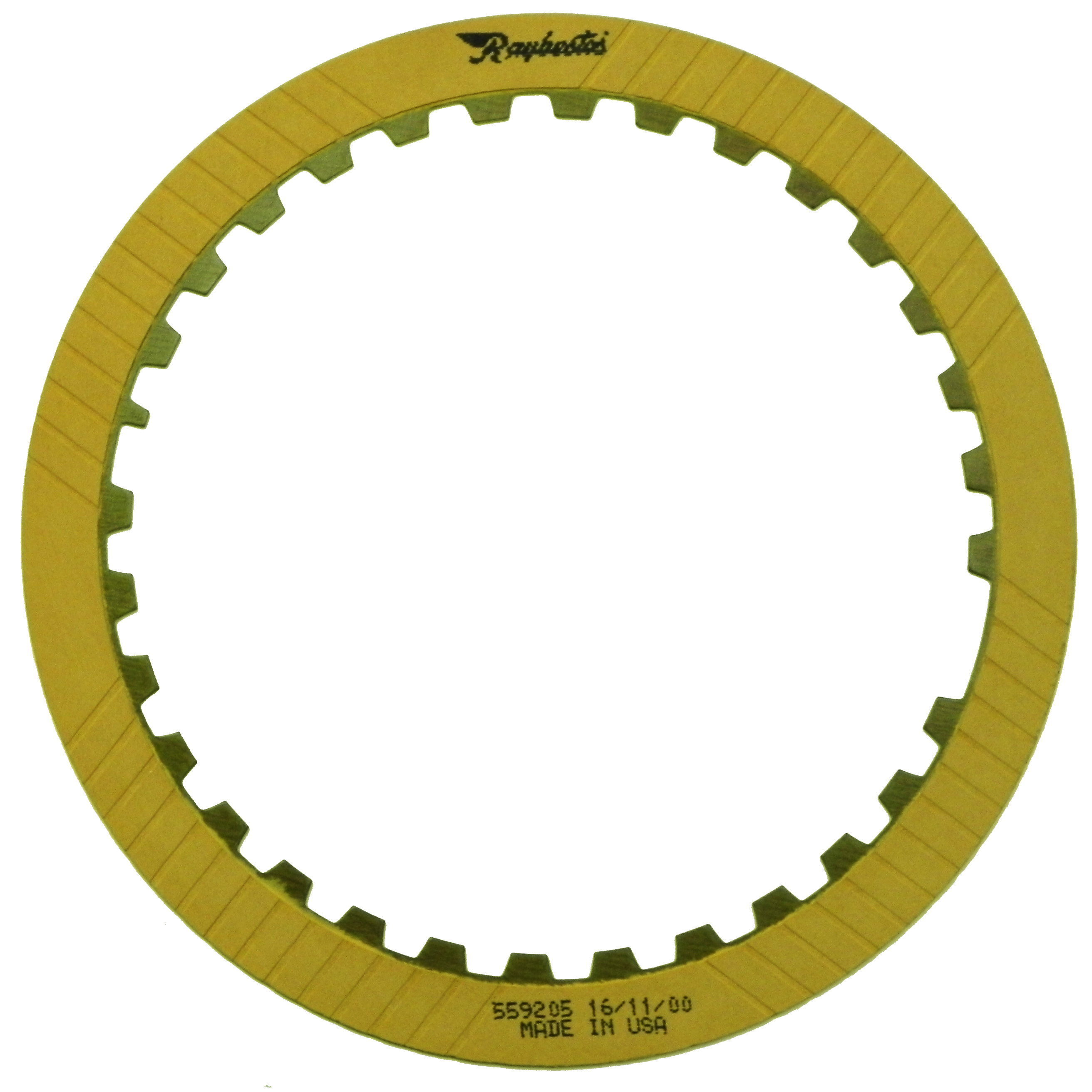 R559205 | 1999-ON Friction Clutch Plate OE Replacement Underdrive Tan