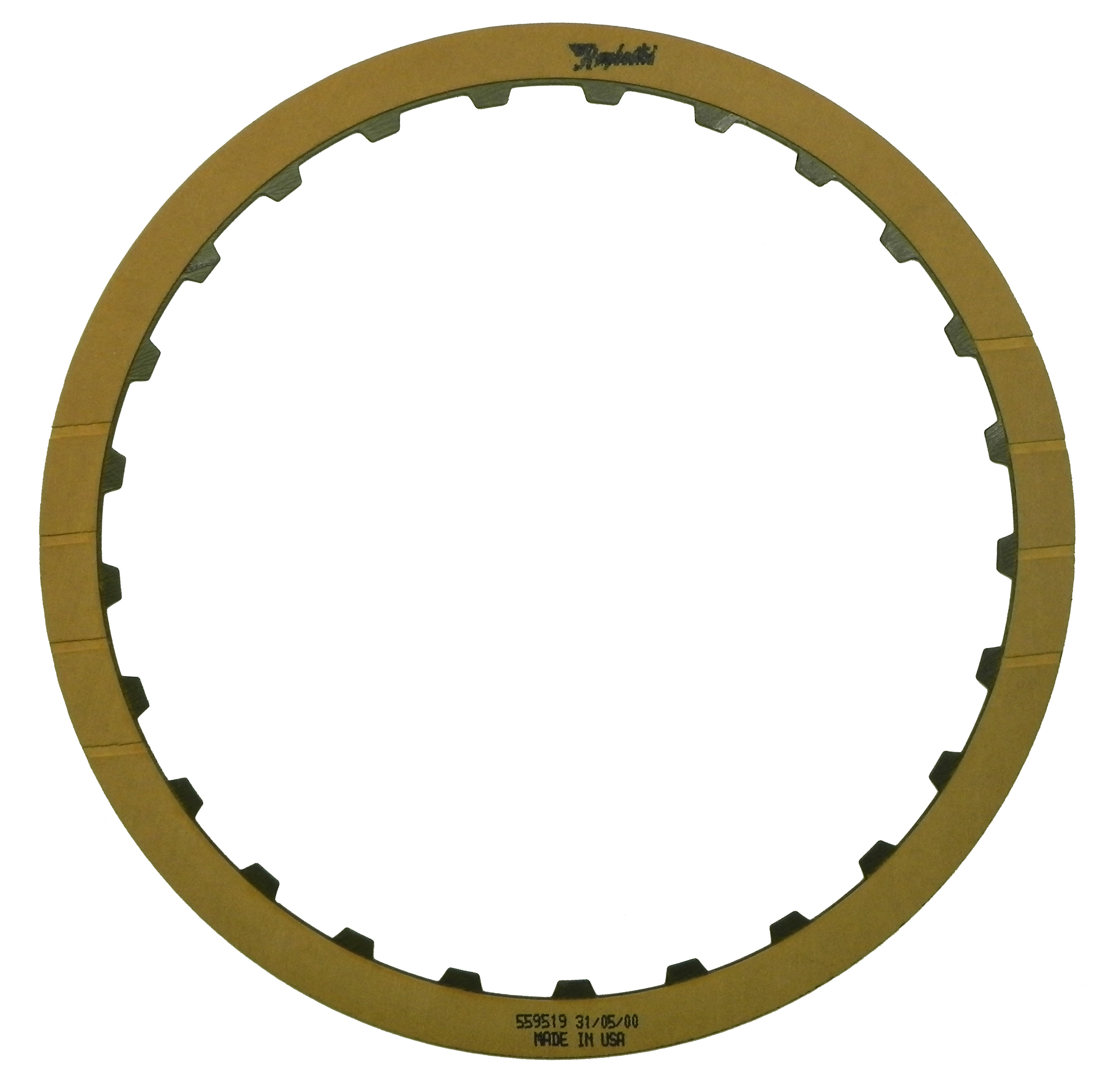 POWERGLIDE, TH250, TH250C, TH350, TH350C, TH375B, ST300 OE Replacement Friction Clutch Plate