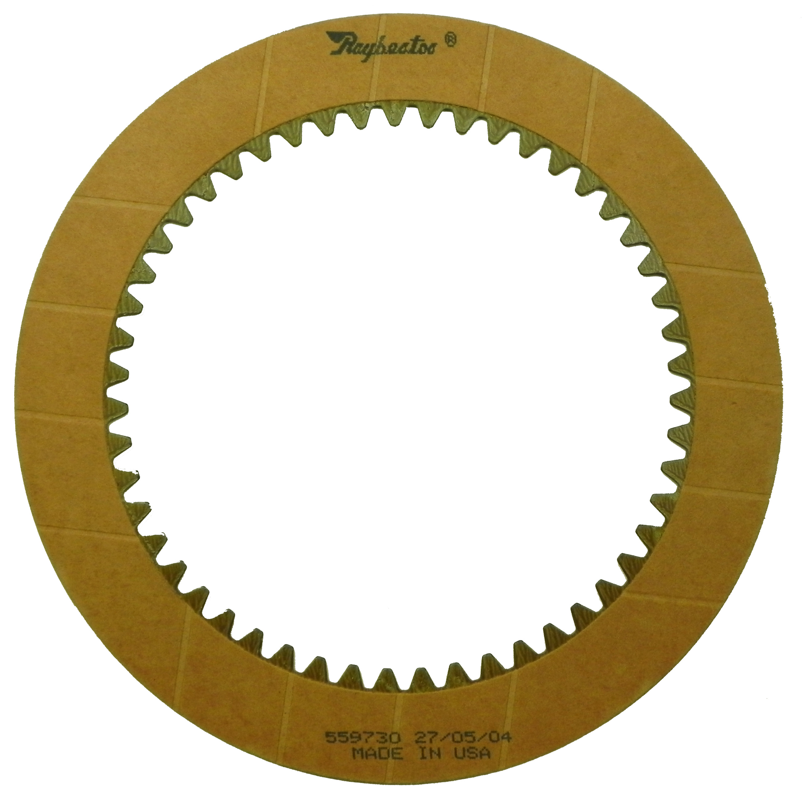 R559730 | 1970-1983 Friction Clutch Plate OE Replacement 1st, 2nd, 3rd, 4th Waved
