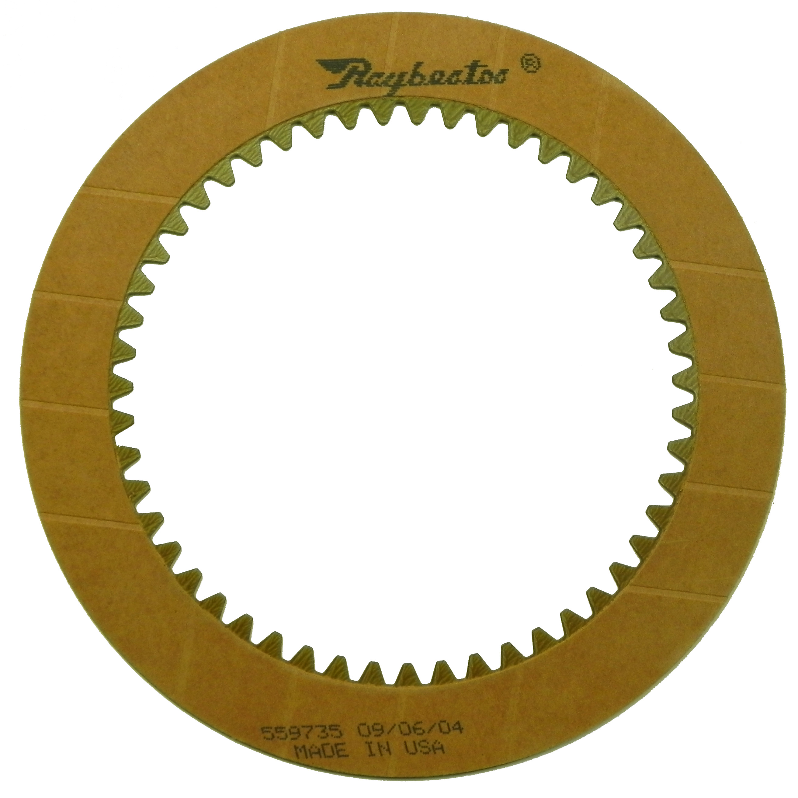 R559735 | 1970-1983 Friction Clutch Plate OE Replacement 1st, 2nd, 3rd, 4th Waved