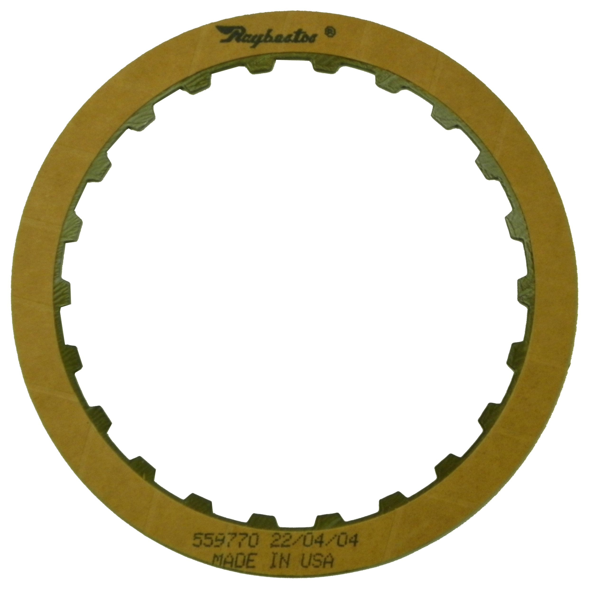 R559770 | 1990-1997 Friction Clutch Plate OE Replacement Overrun KS Clutch (Waved)