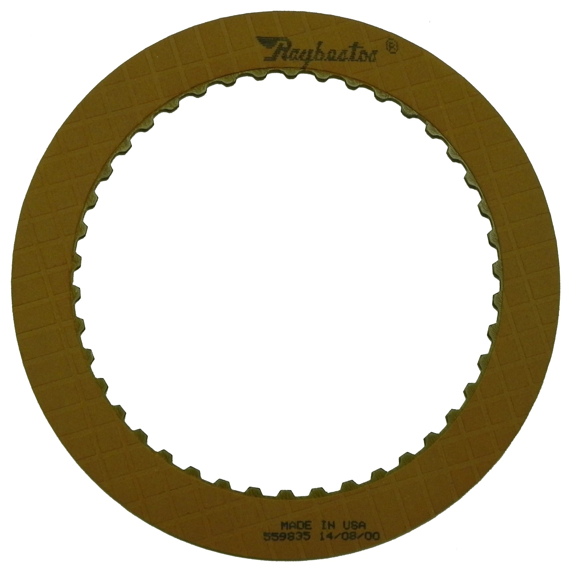 C4, C5 OE Replacement Friction Clutch Plate