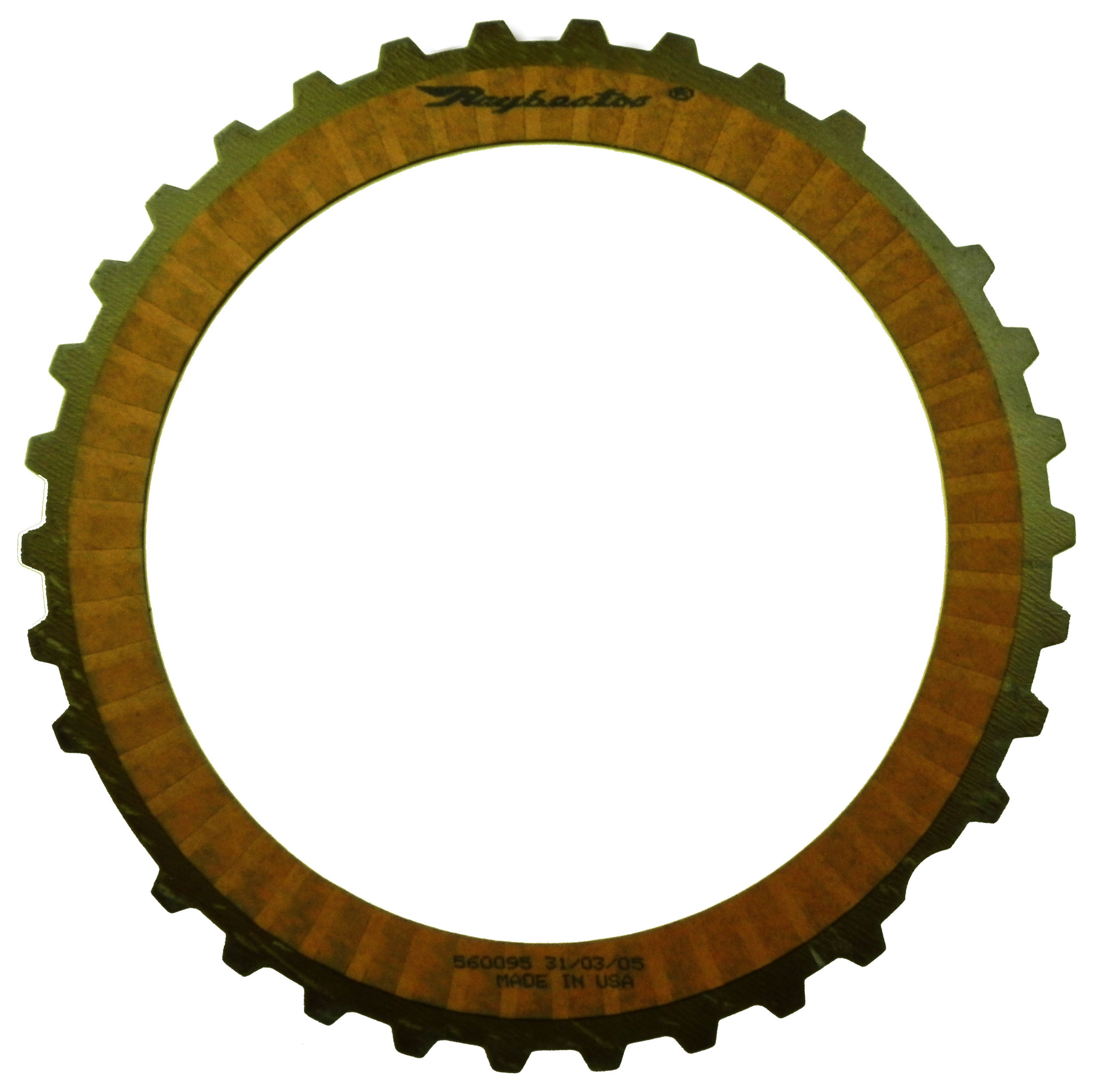 R560095   1999-ON Friction Clutch Plate OE Replacement Transfer Case 4405 OD Spline, Single Sided