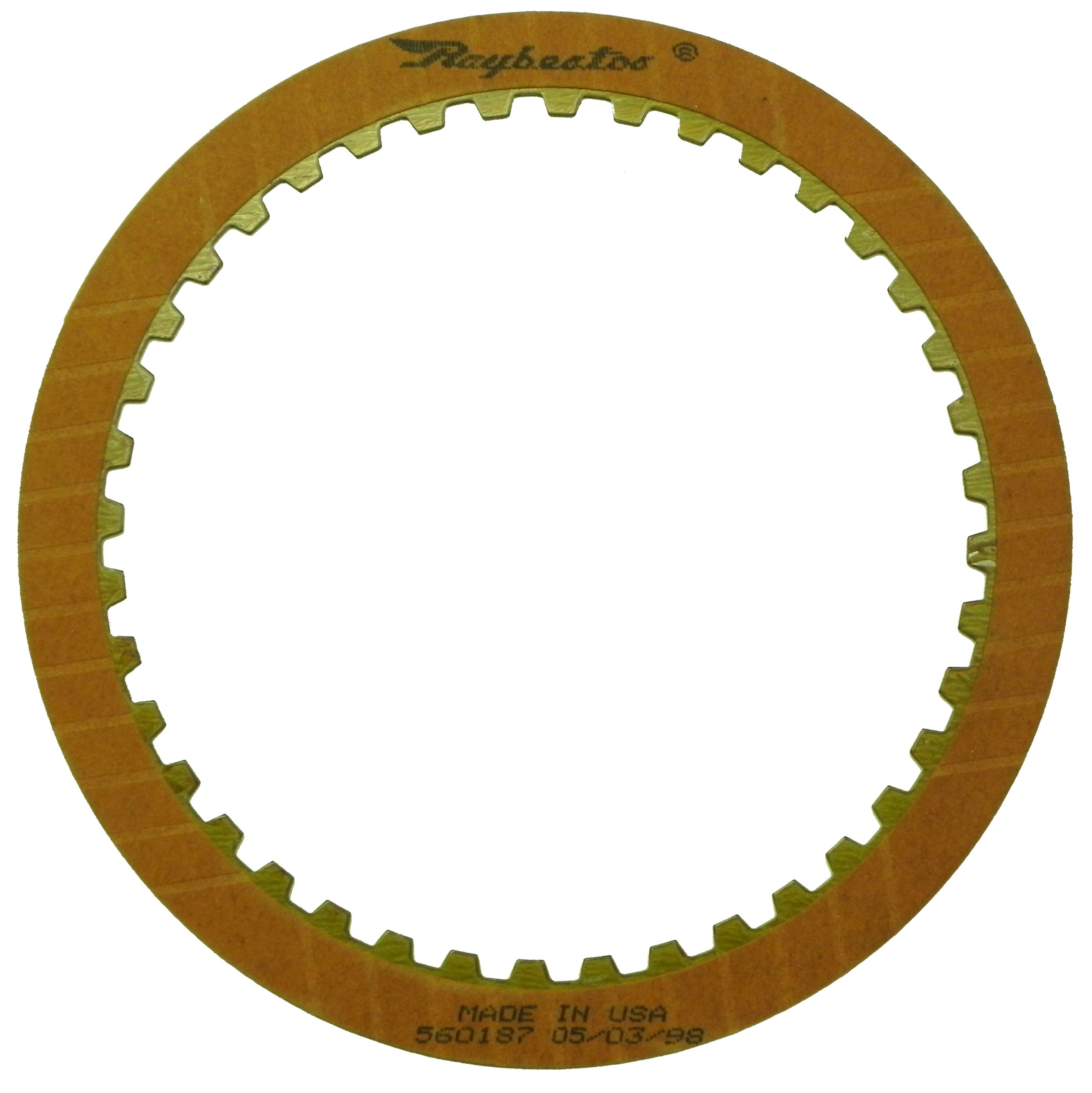 R560187 | 1982-ON Friction Clutch Plate OE Replacement E (Input), F (Overdrive) Clutch