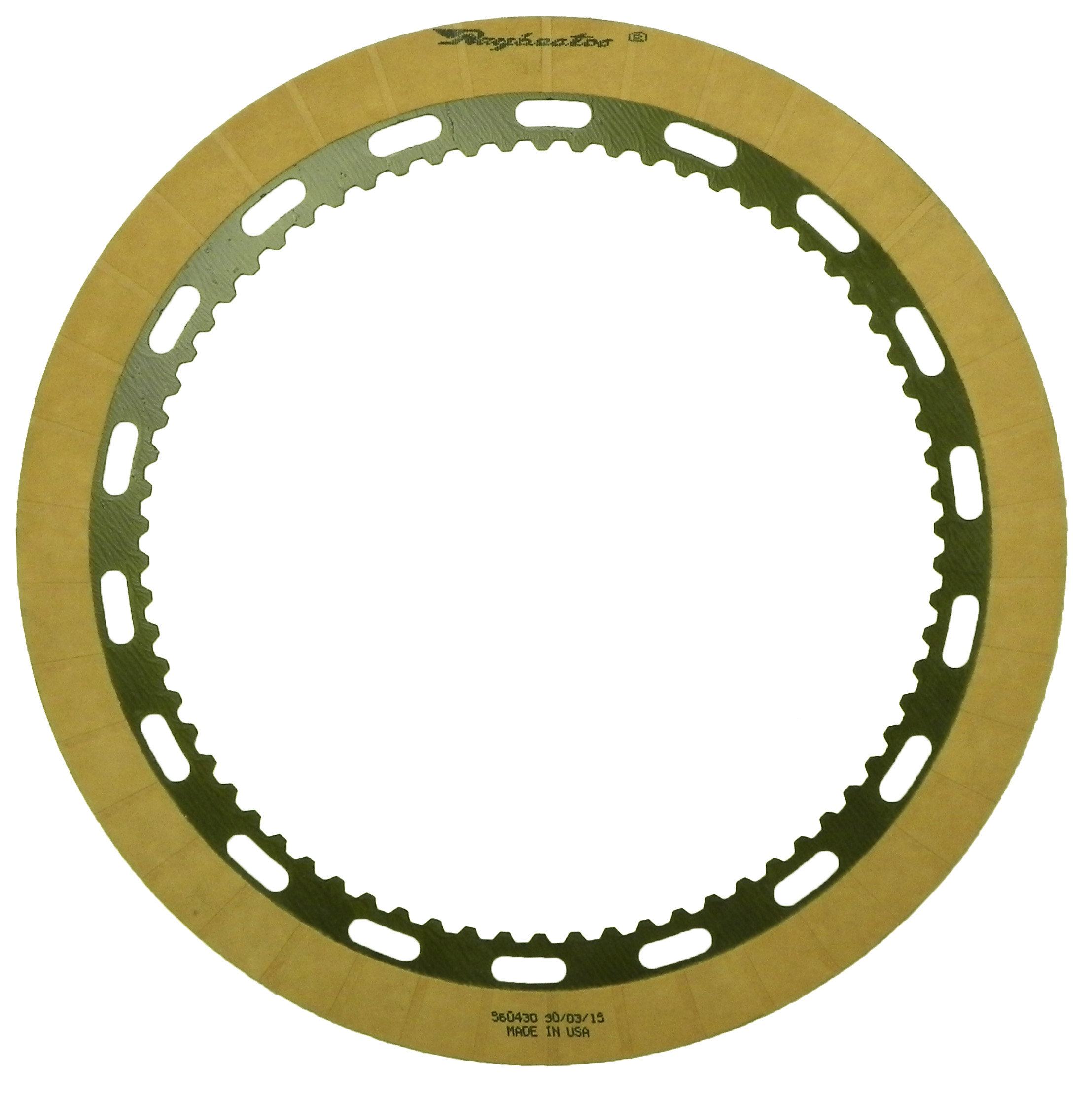 R560430 | 2007-ON Friction Clutch Plate OE Replacement B2 Low, Reverse Clutch