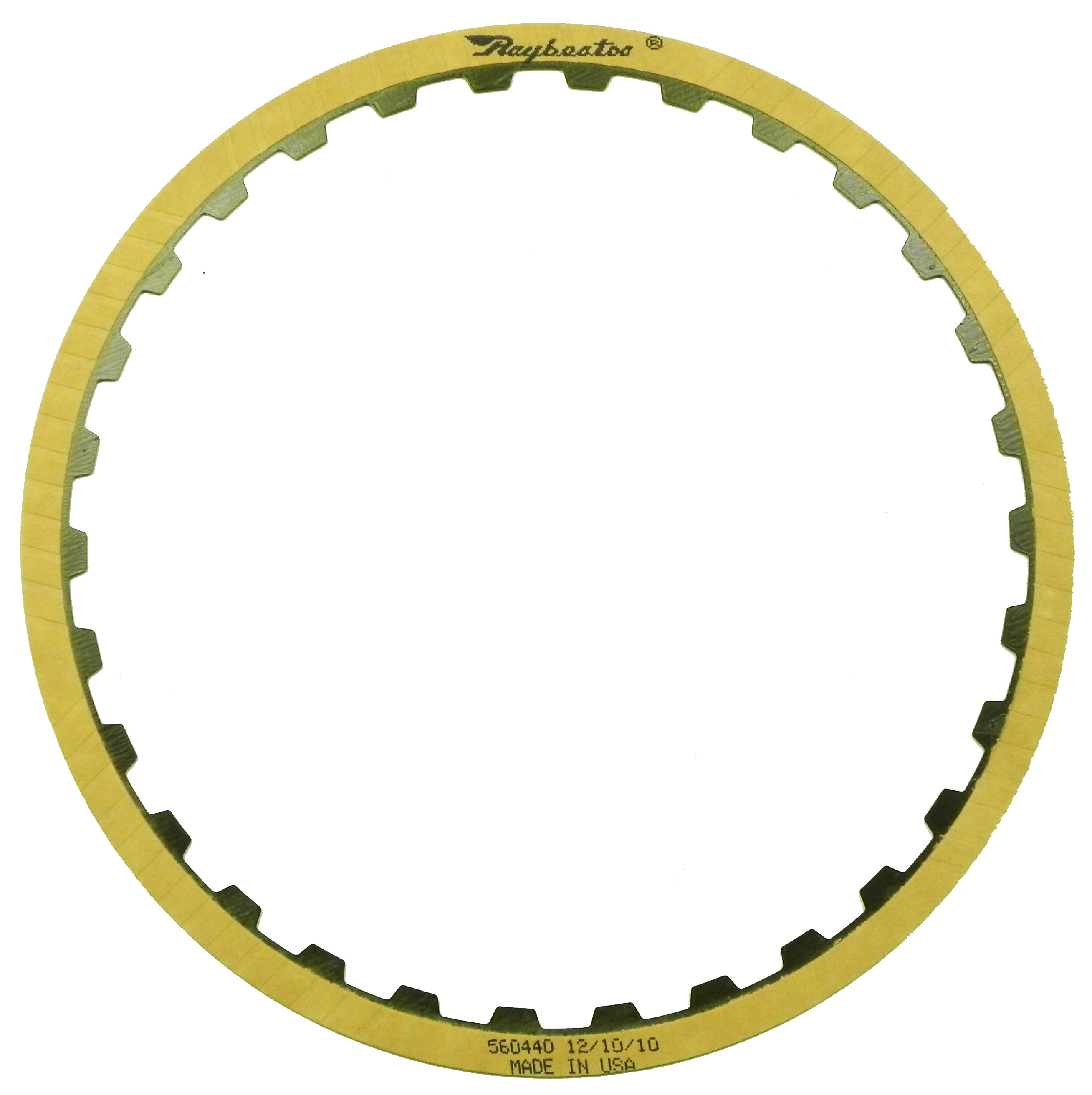 6HP19, 6HP19A, 6HP19X, 6HP21, 6HP21X, 09L OE Replacement Friction Clutch Plate