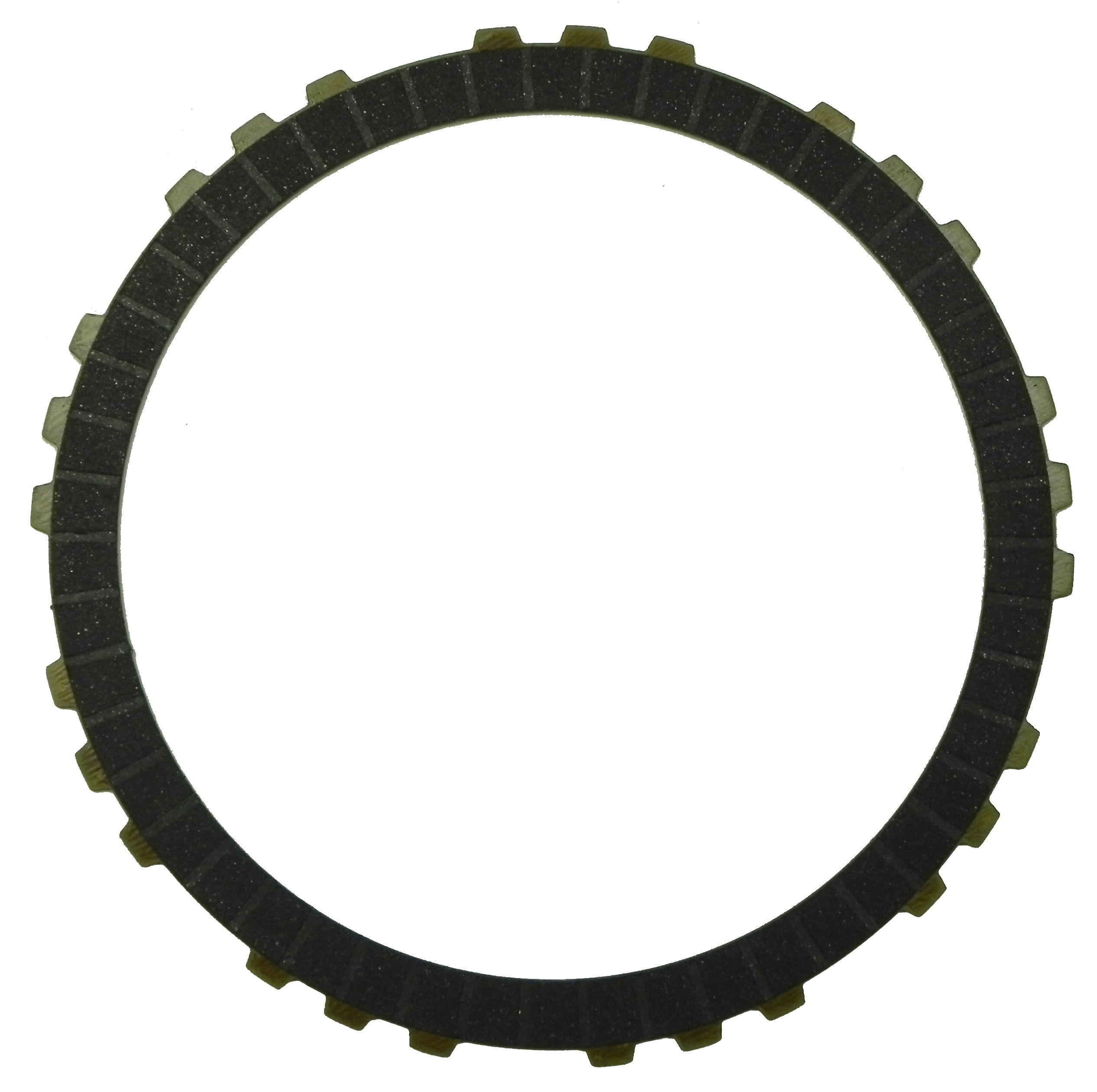 R560635 | 2009-ON Friction Clutch Plate High Energy 3, 5, Reverse Single Sided, OD Spline High Energy