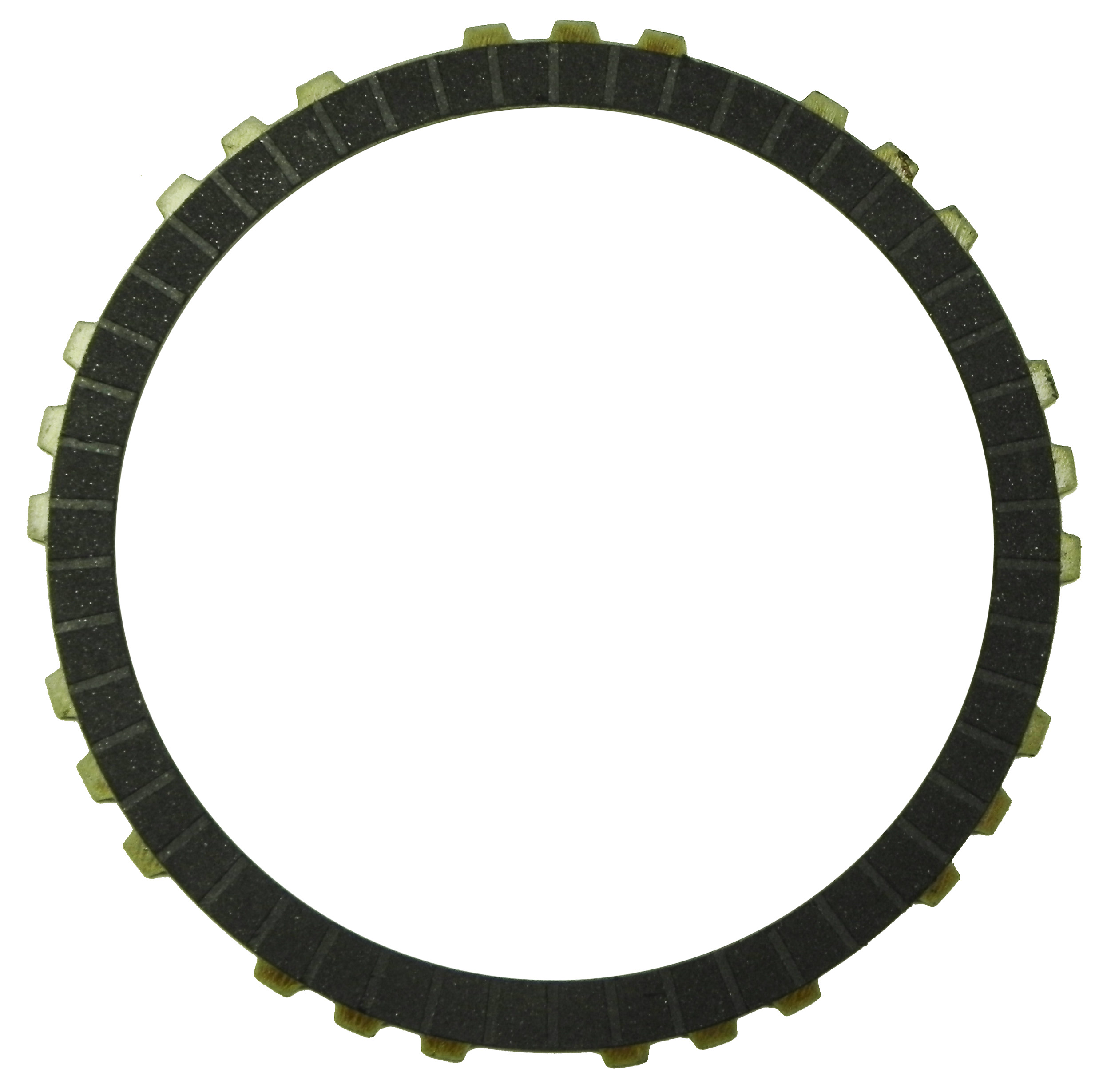 R560640 | 2009-ON Friction Clutch Plate High Energy 3, 5, Reverse Single Sided, OD Spline Bottom High Energy